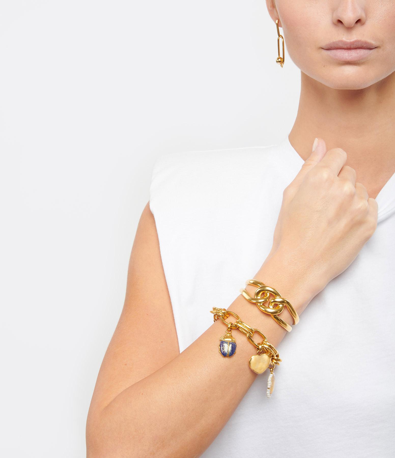 GOOSSENS - Bracelet Lhassa Or Jaune
