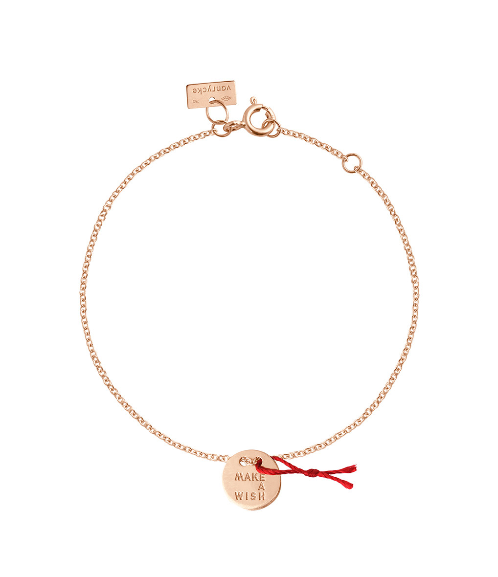 VANRYCKE - Bracelet Make a Wish Or Rose