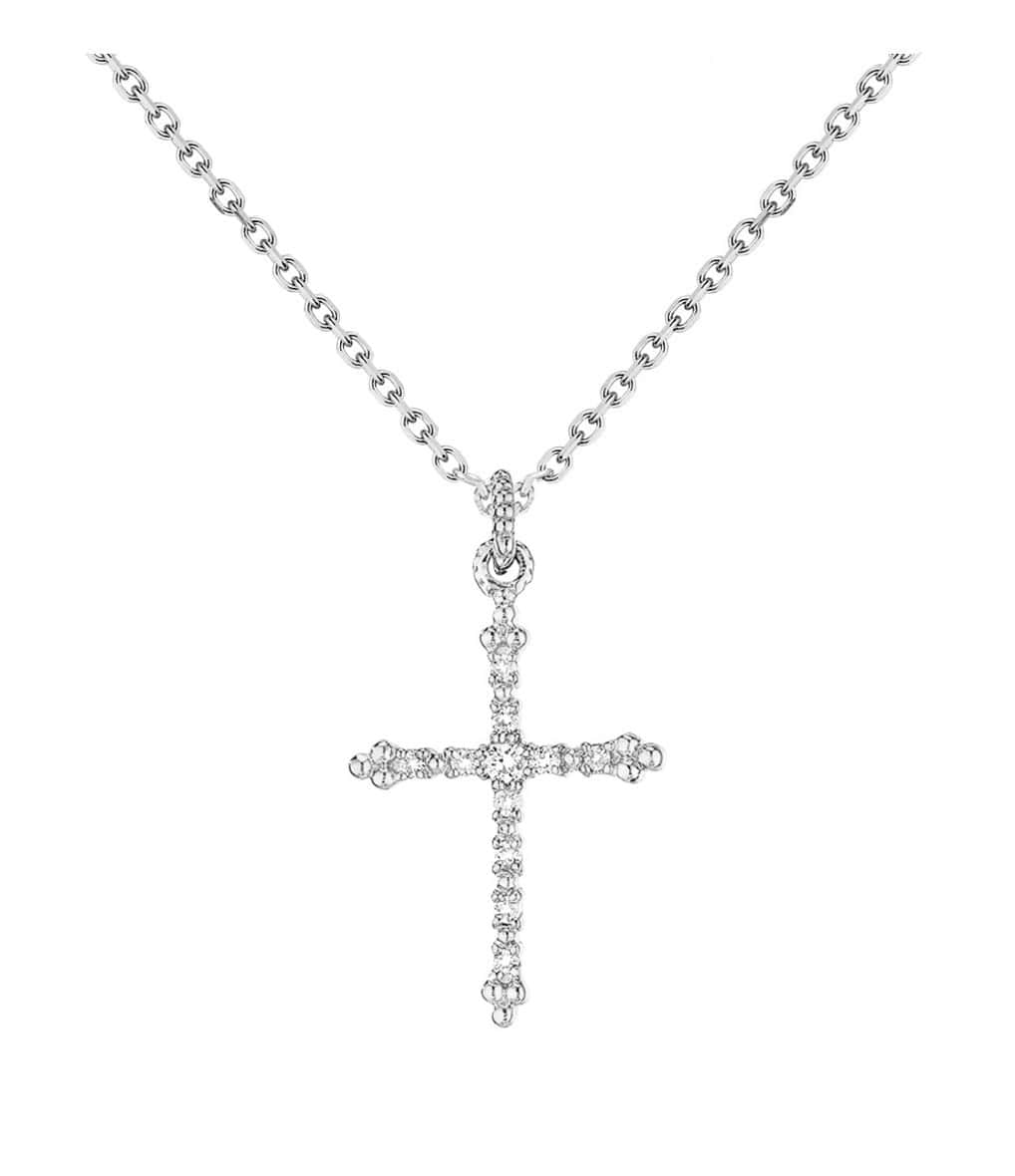 Collier Grace Or Diamants - Stone