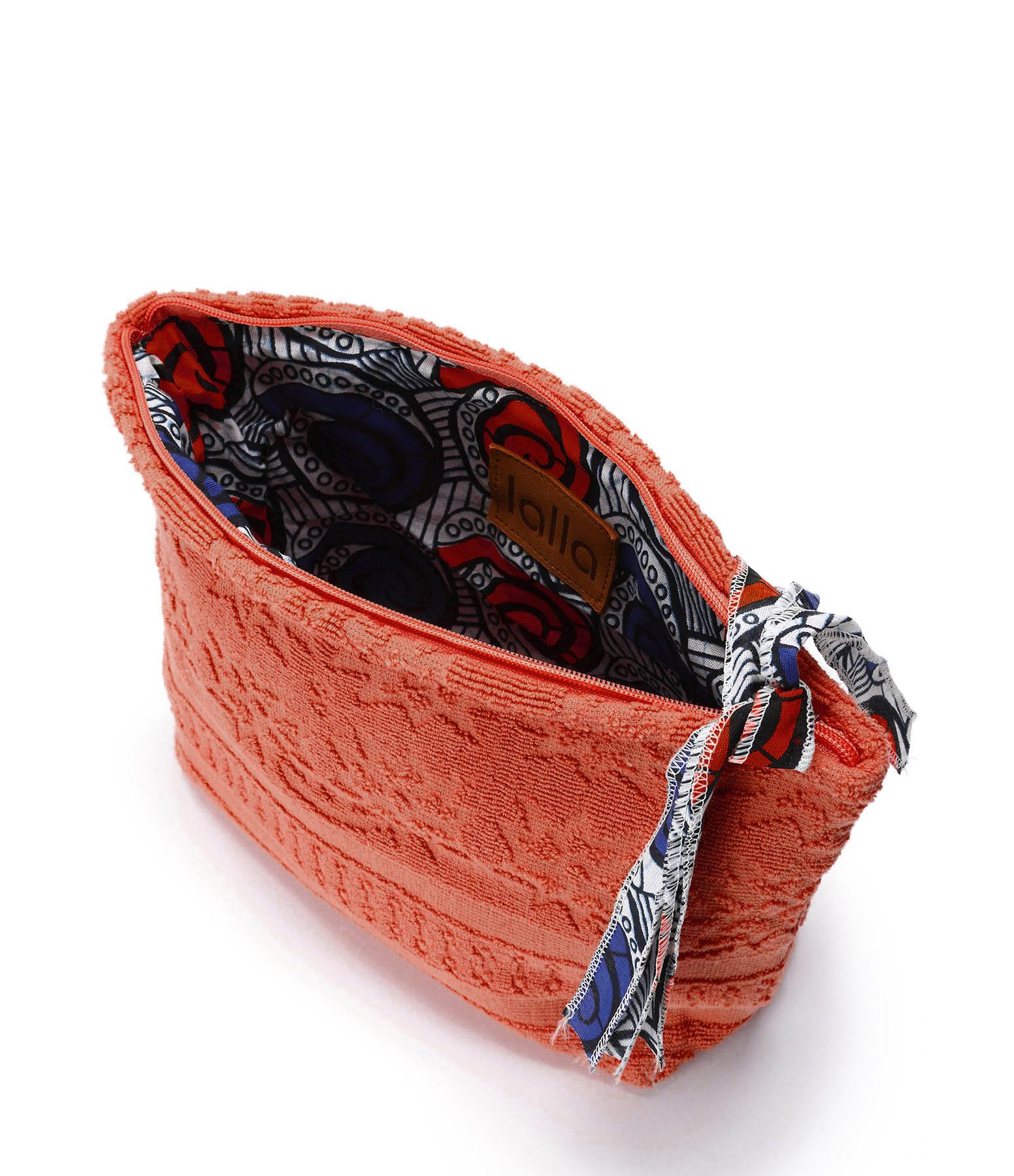 LALLA - Grande Trousse Walakin Éponge Terracotta