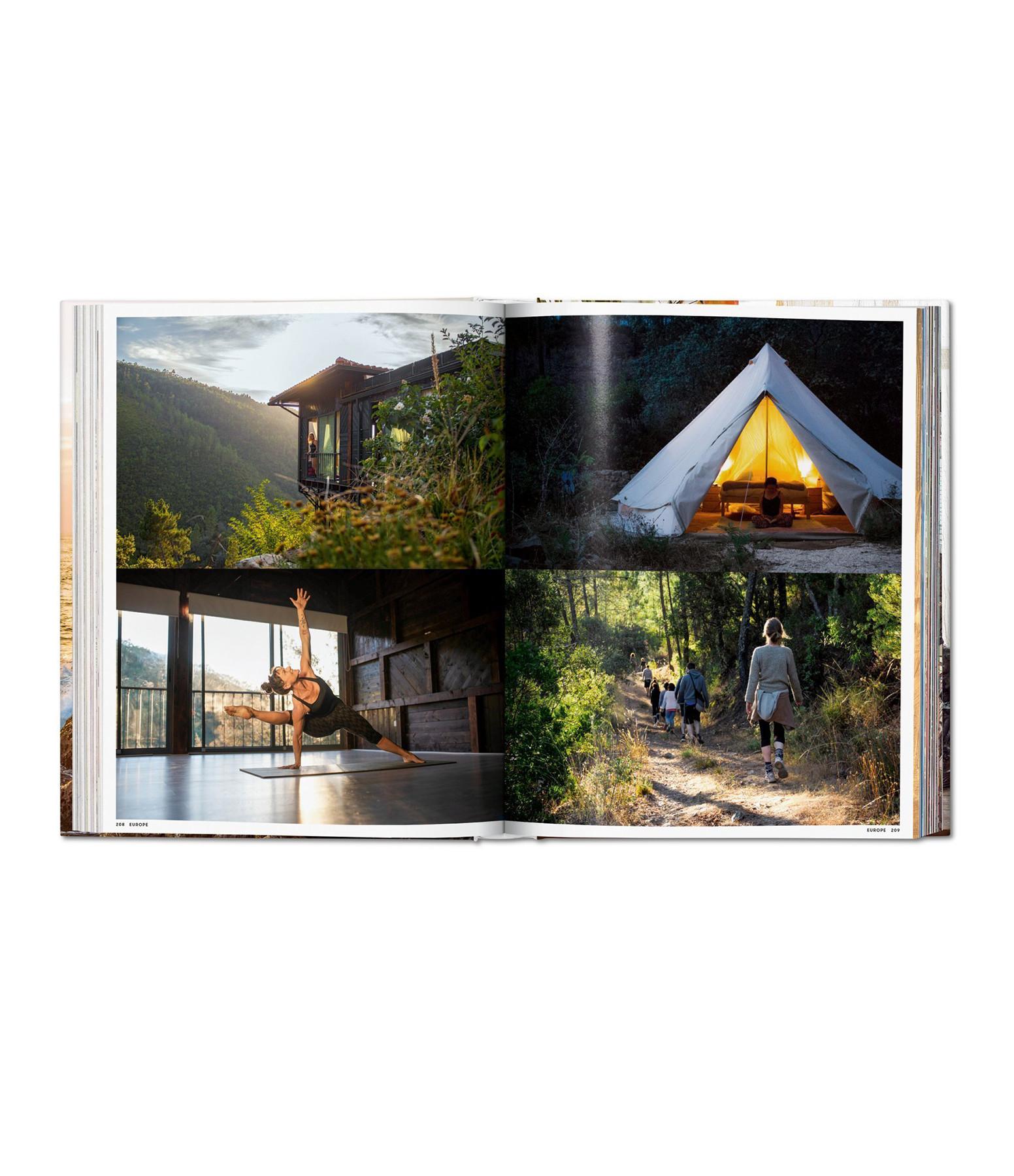 TASCHEN - Livre Great Escapes Yoga, The Retreat Book, 2020