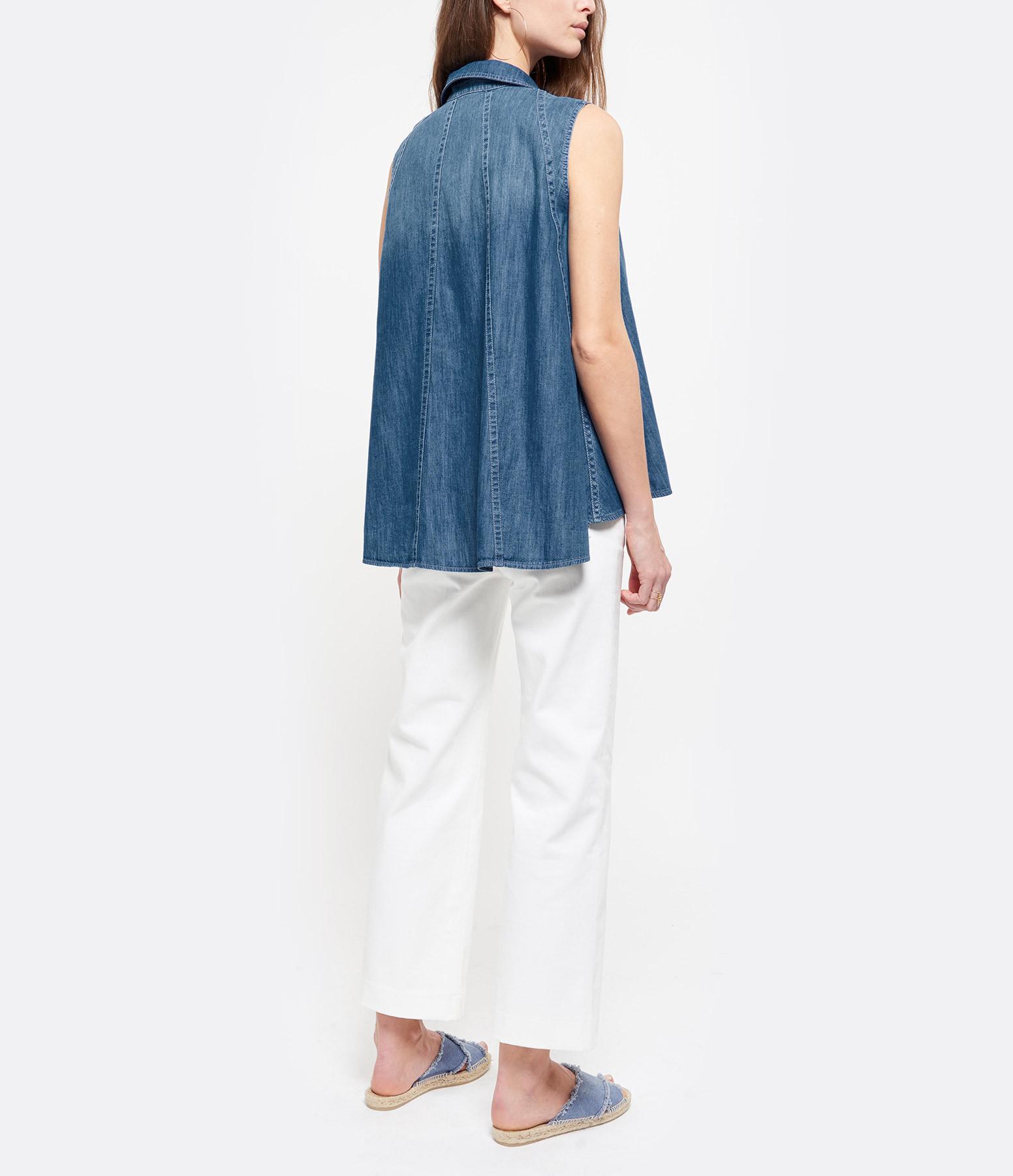 HANA SAN - Chemise Chiro Bleu