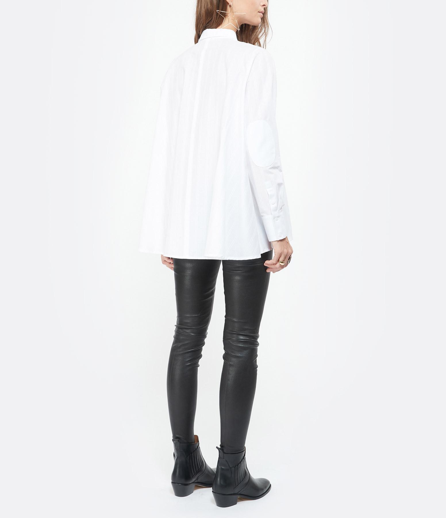 HANA SAN - Chemise Neta Blanc Optique