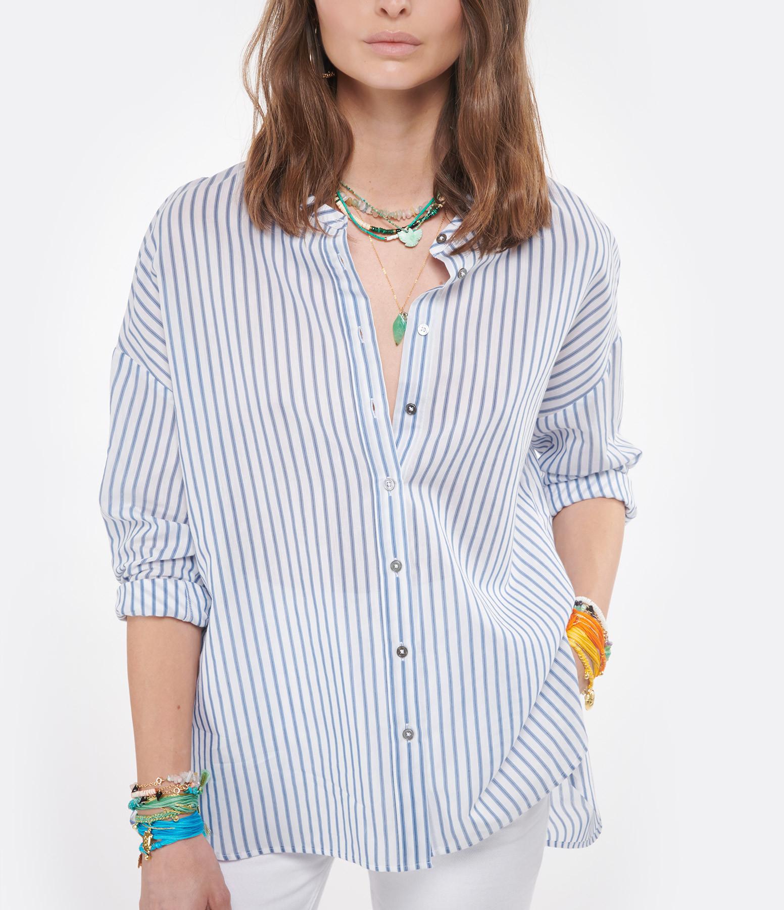 HANA SAN - Blouse Francesca Bleu