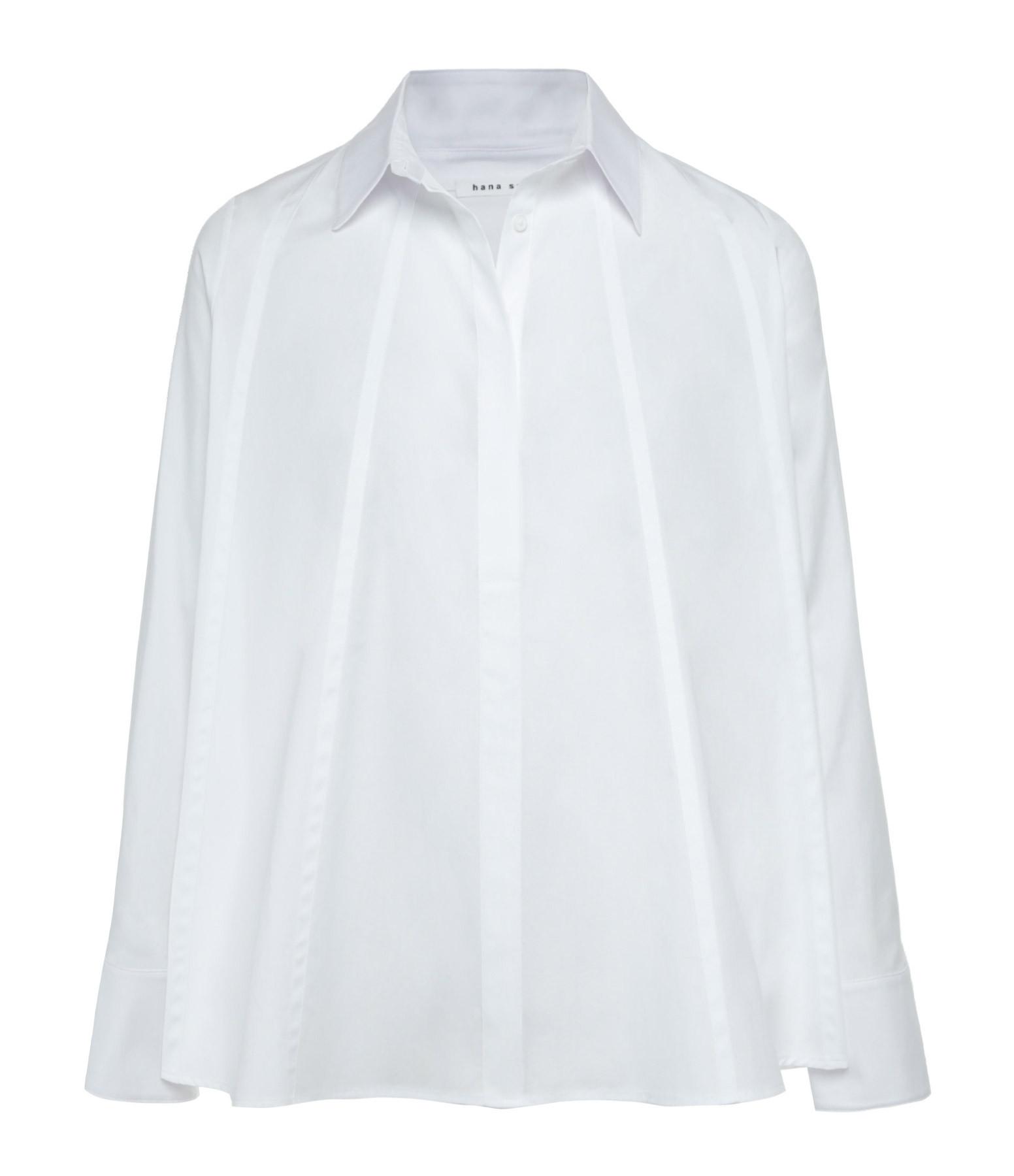 HANA SAN - Chemise Jiroh Blanc Optique