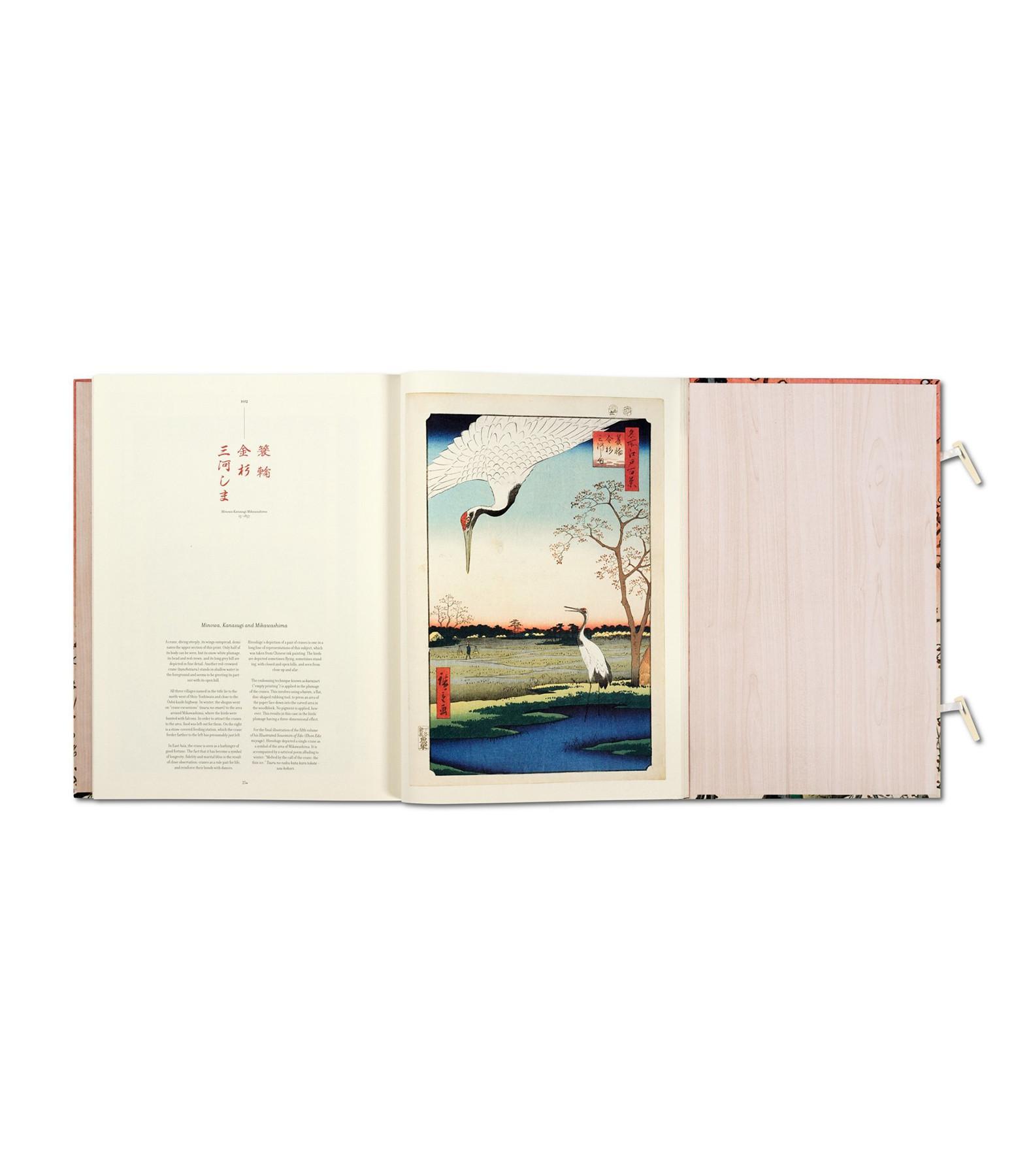 TASCHEN - Livre Hiroshige, Cent Vues Célèbres D'Edo