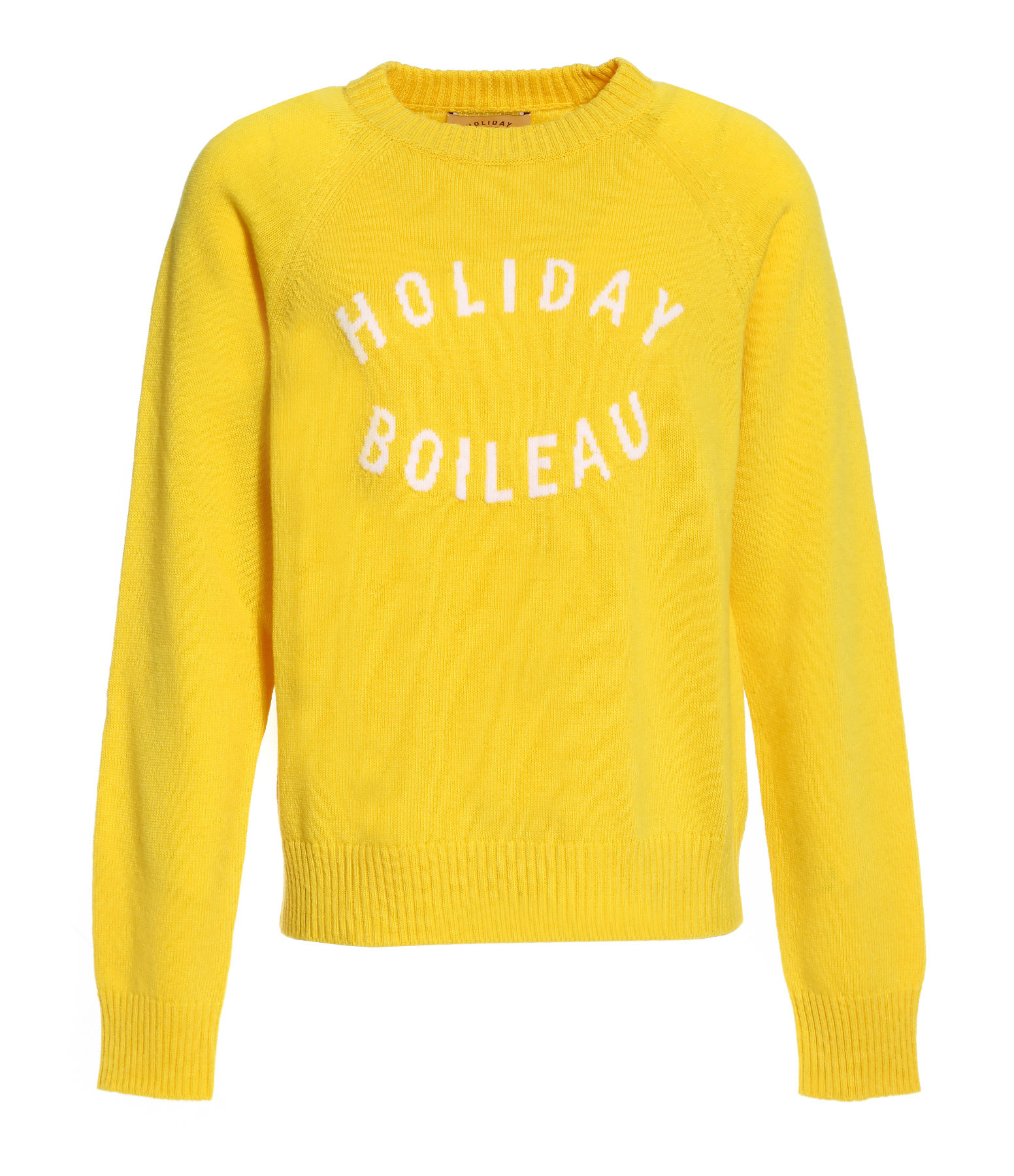 HOLIDAY - Pull Boileau Laine Jaune