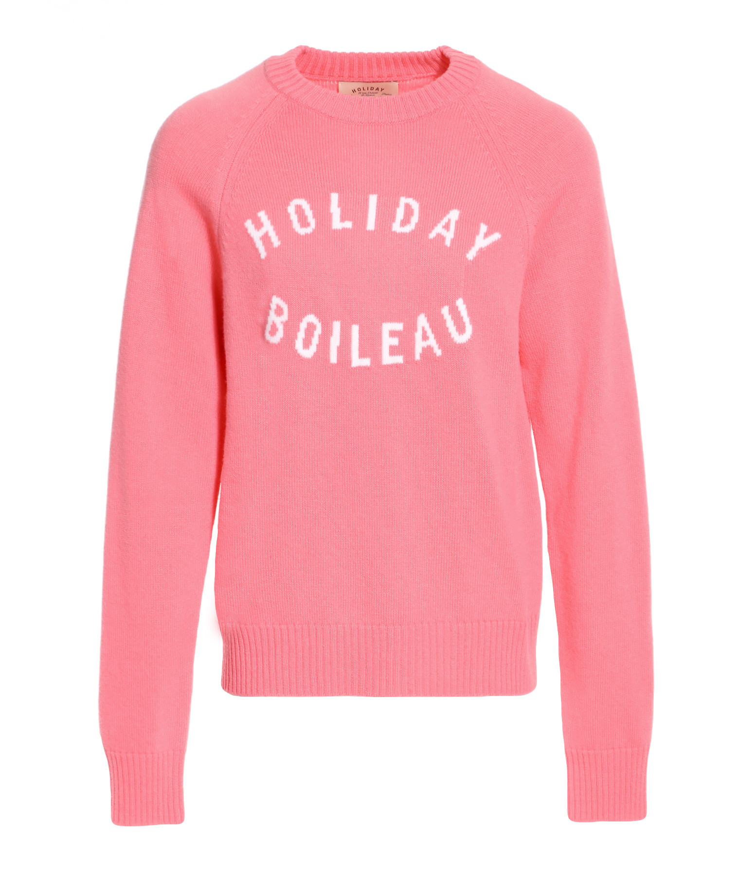 a7f9b57e84d23 HOLIDAY - Pull Boileau Laine Rose
