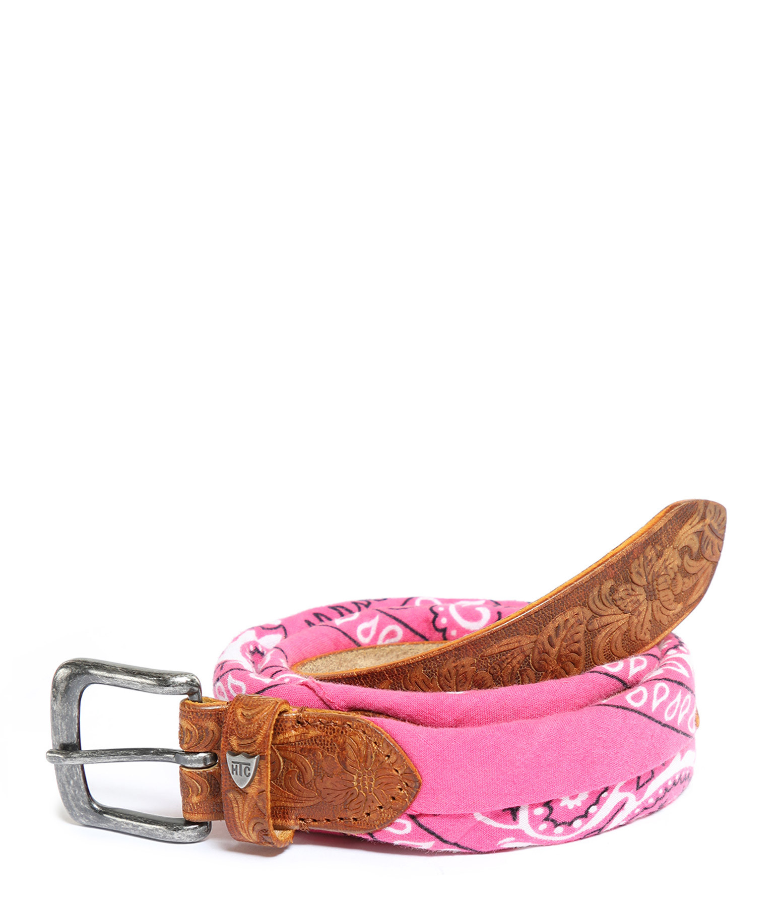 HTC LOS ANGELES - Ceinture Bandana Rose Fushia