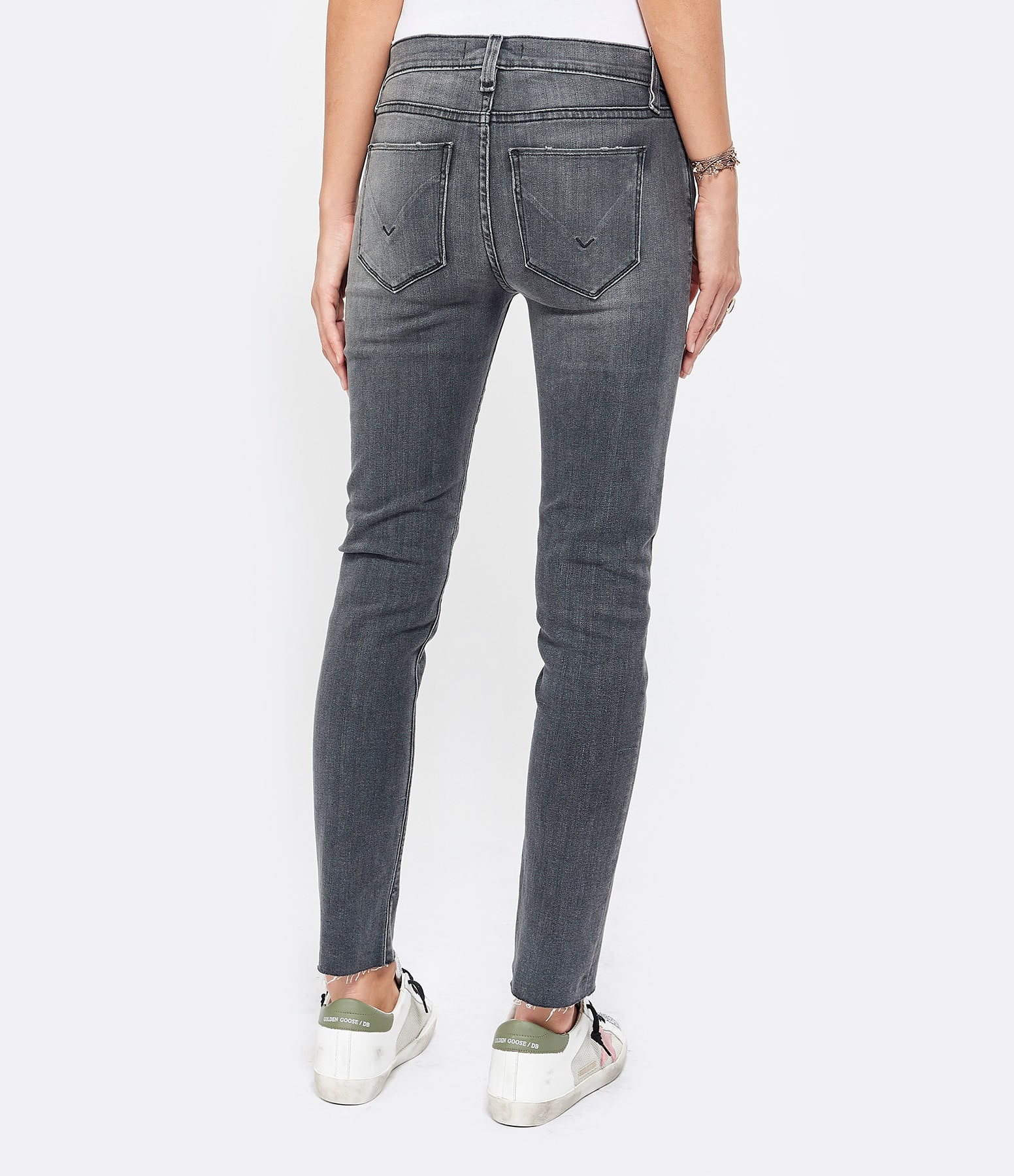 HUDSON JEANS - Jean Nico Skinny Crop Downtown Denim