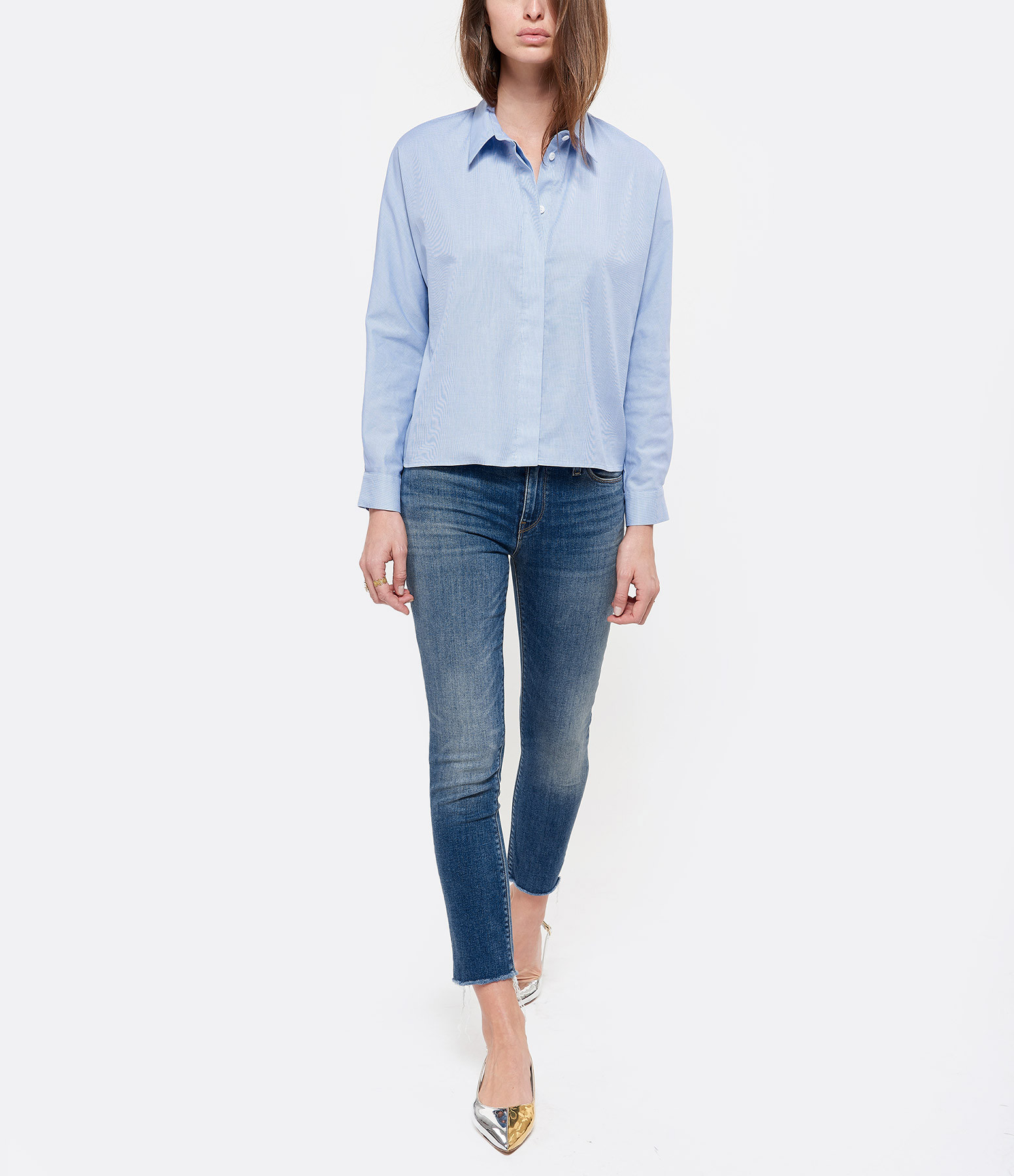 HUDSON JEANS - Jean Nico Midrise Skinny Righteous