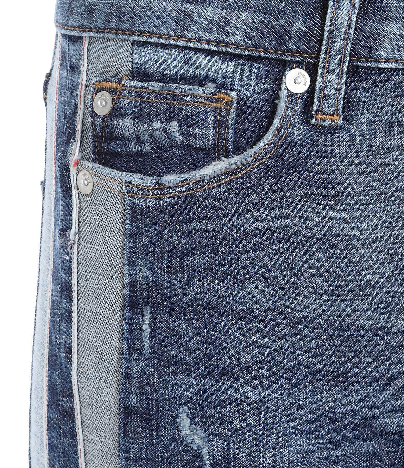 HUDSON JEANS - Jean Zoeey High Rise Ankle Bleu