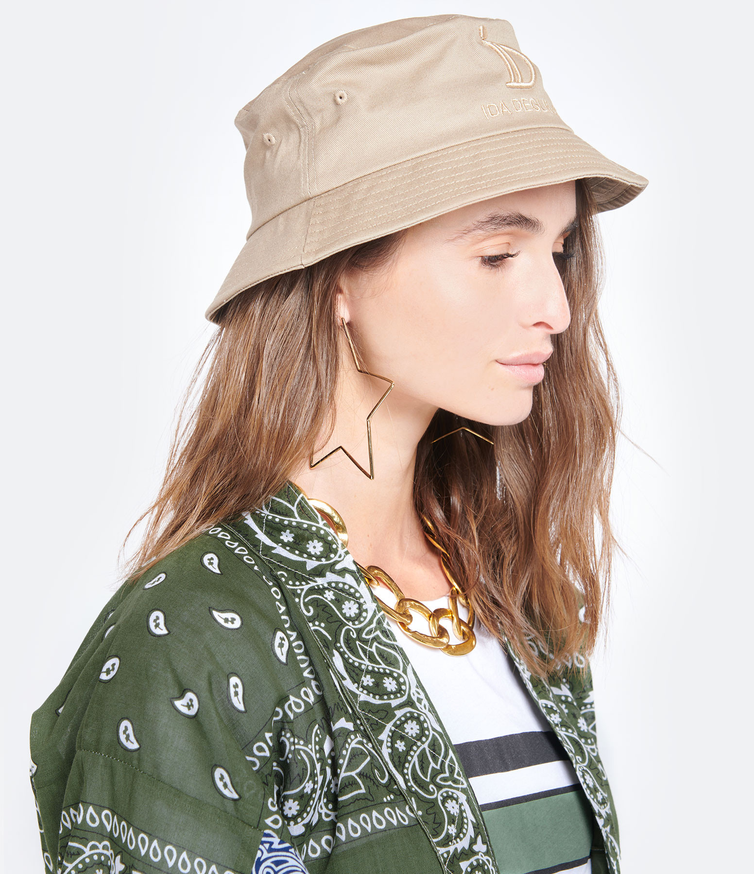 IDA DEGLIAME - Chapeau Bob ID Camel