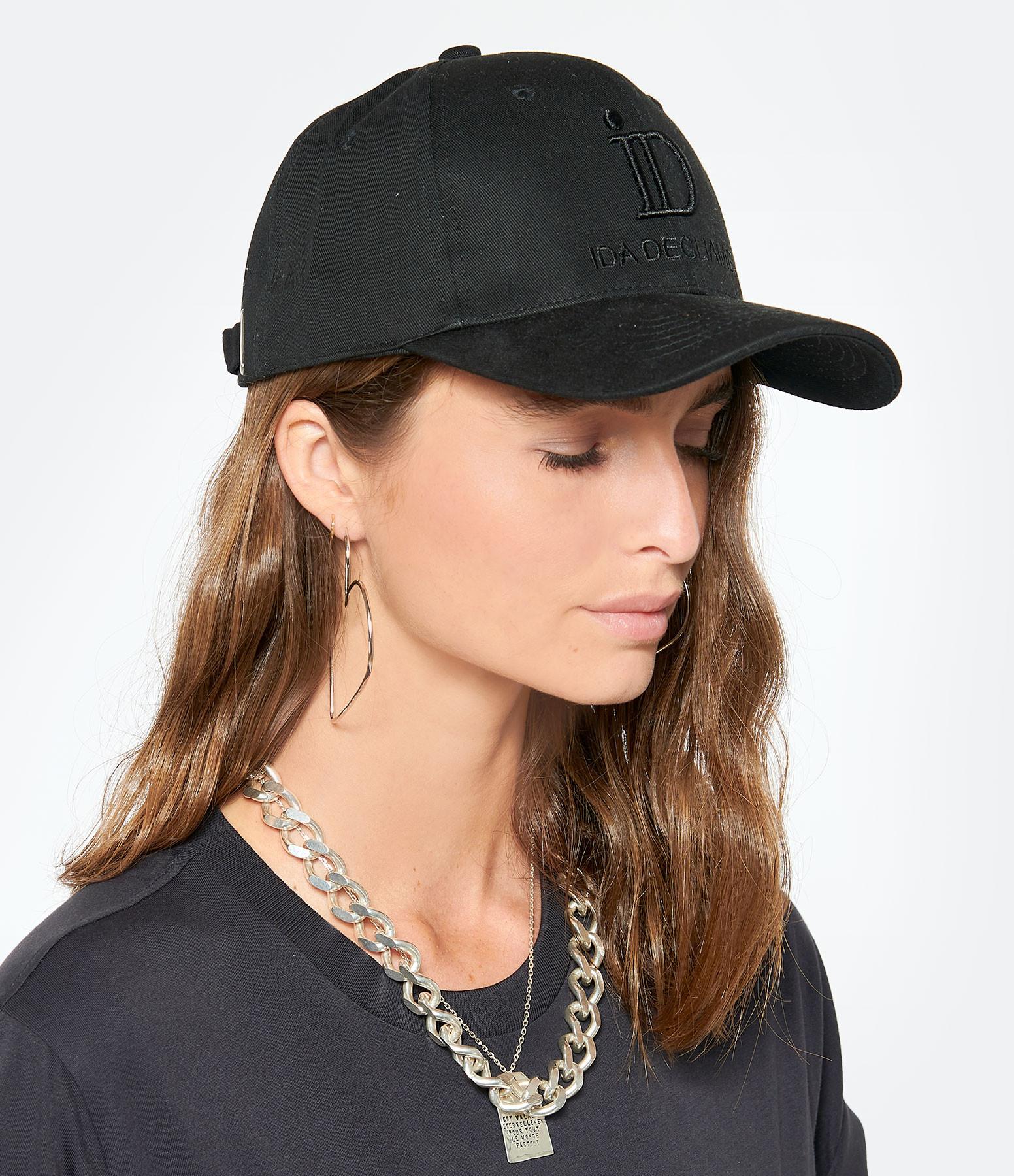 IDA DEGLIAME - Casquette ID Noir