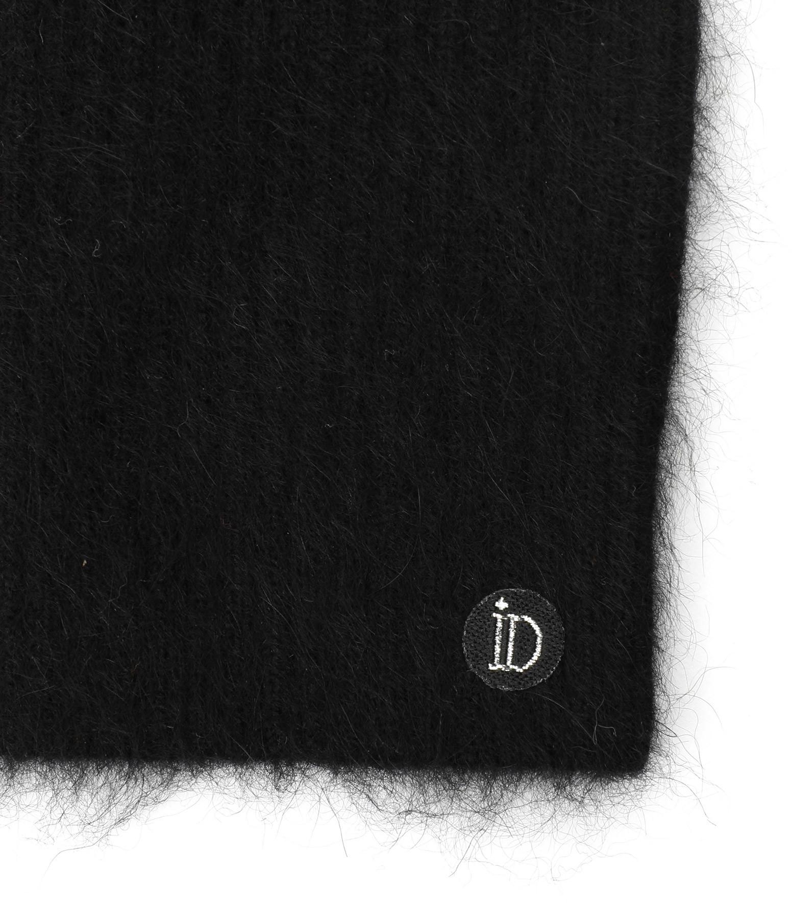 IDADEG - Mitaines Serge Chachemire Vison Noir