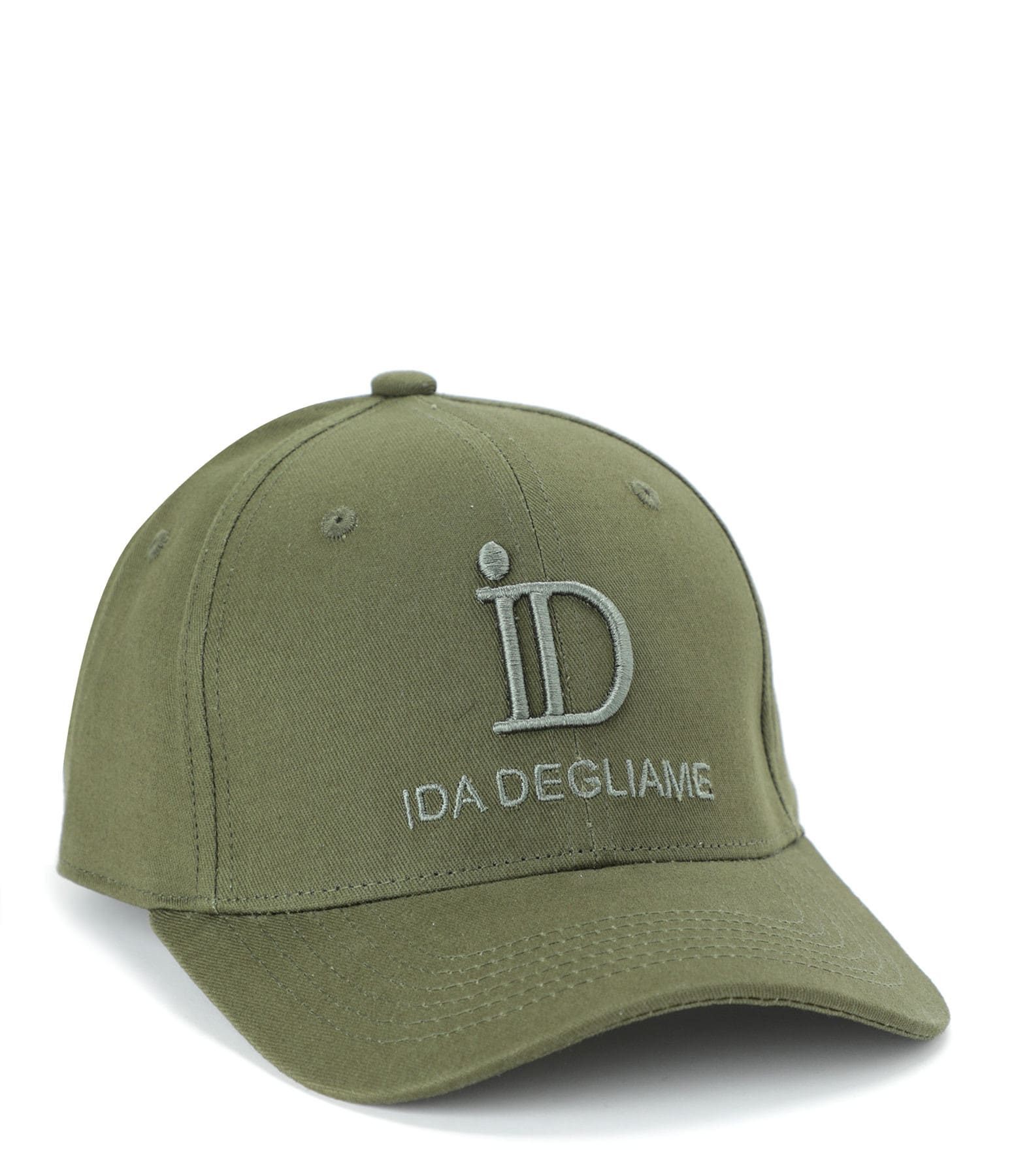 IDA DEGLIAME - Casquette ID Kaki