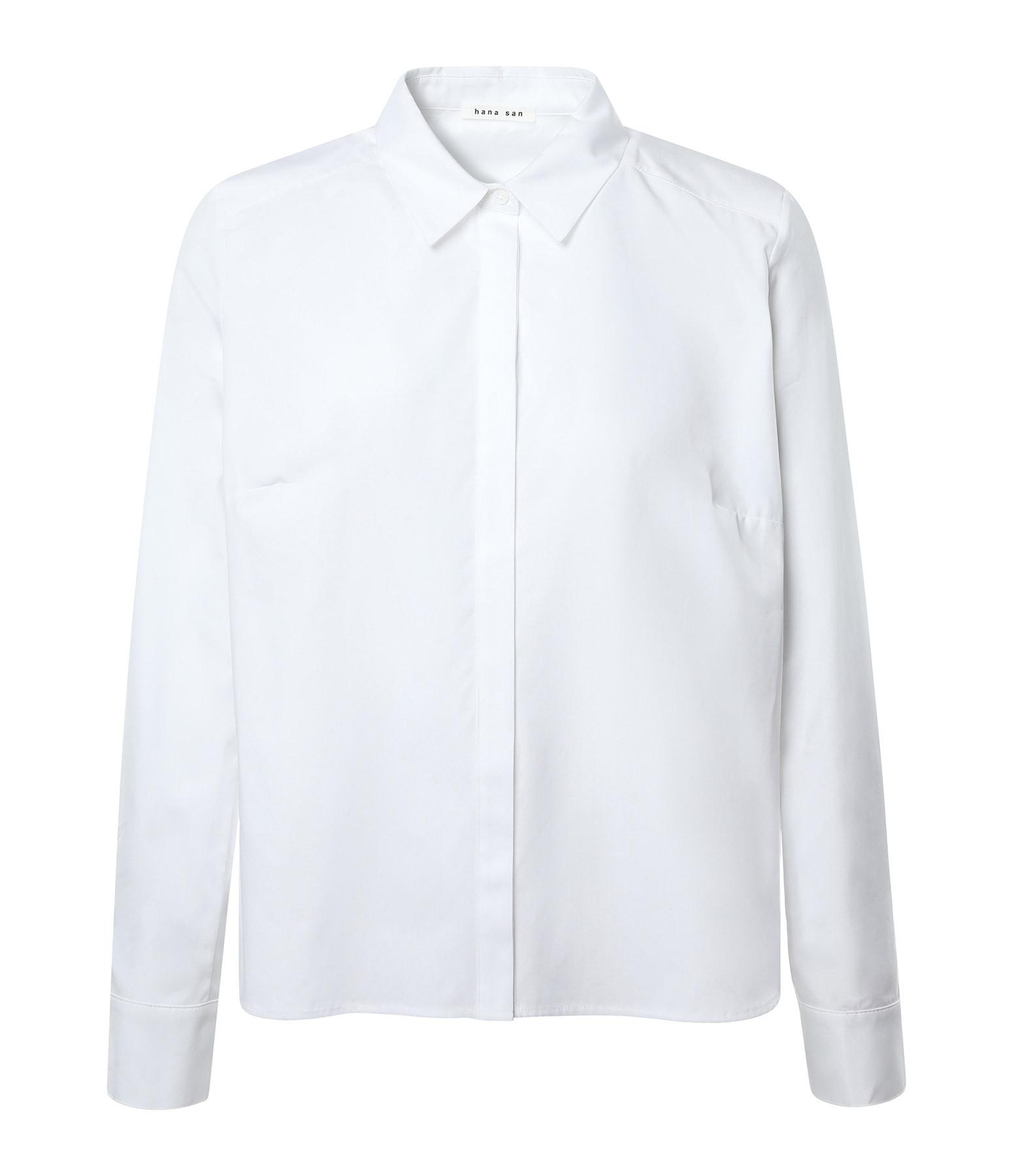 HANA SAN - Chemise Masami Blanc