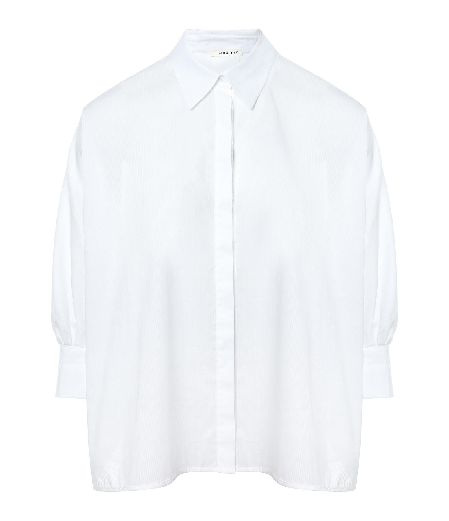 HANA SAN - Chemise Fujin Blanc