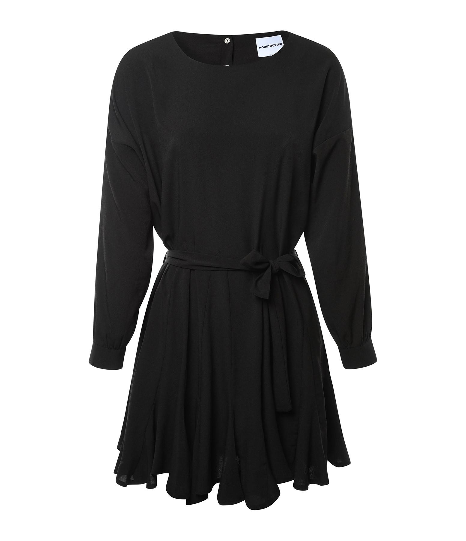 MODETROTTER - Robe Colette Noir