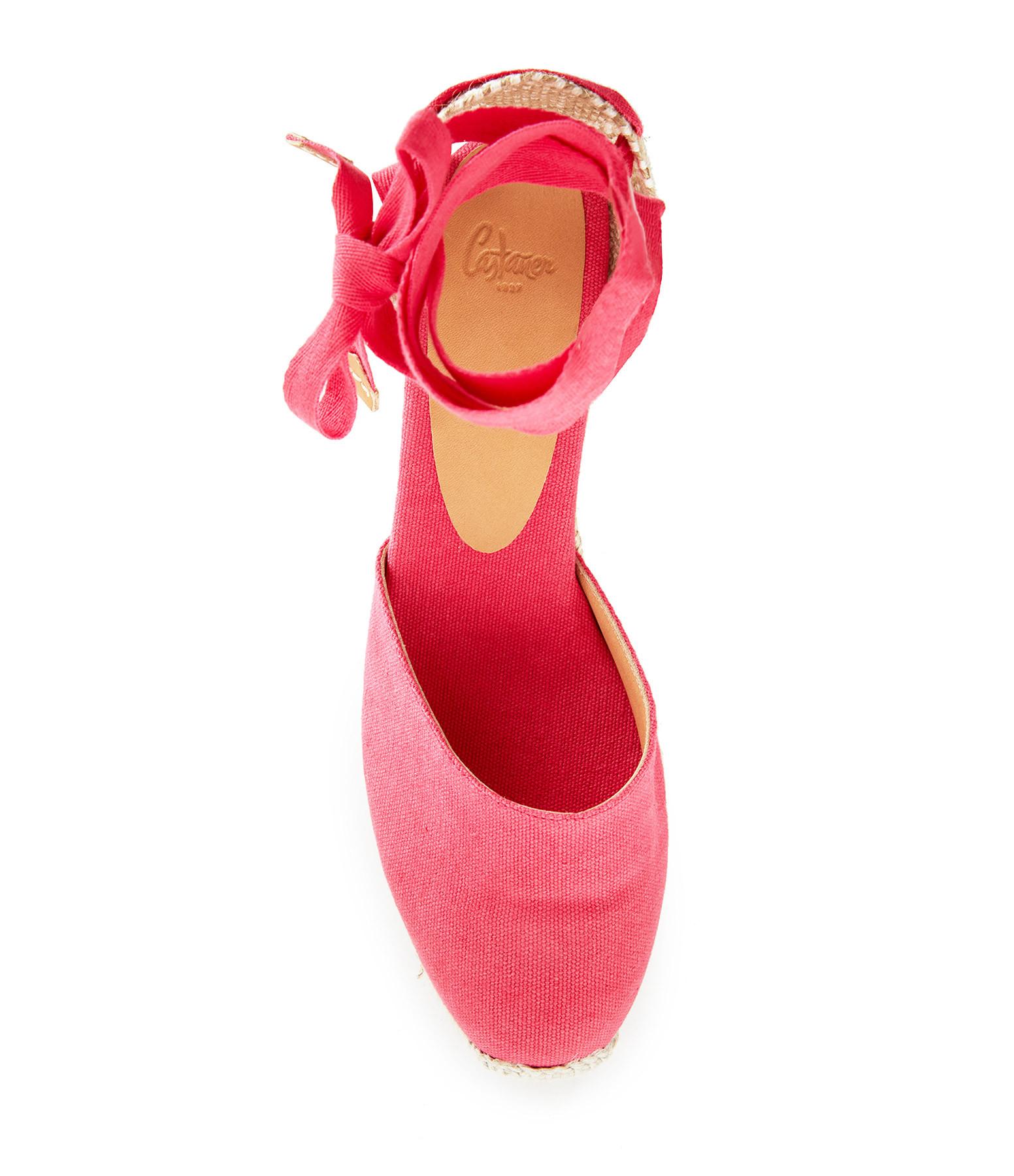 CASTAÑER - Sandales Carina Rose Rouge-à-lèvre