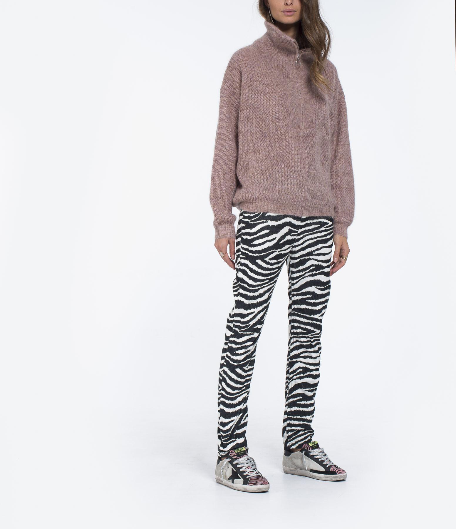 ISABEL MARANT ETOILE - Pantalon Aliff Coton Ecru