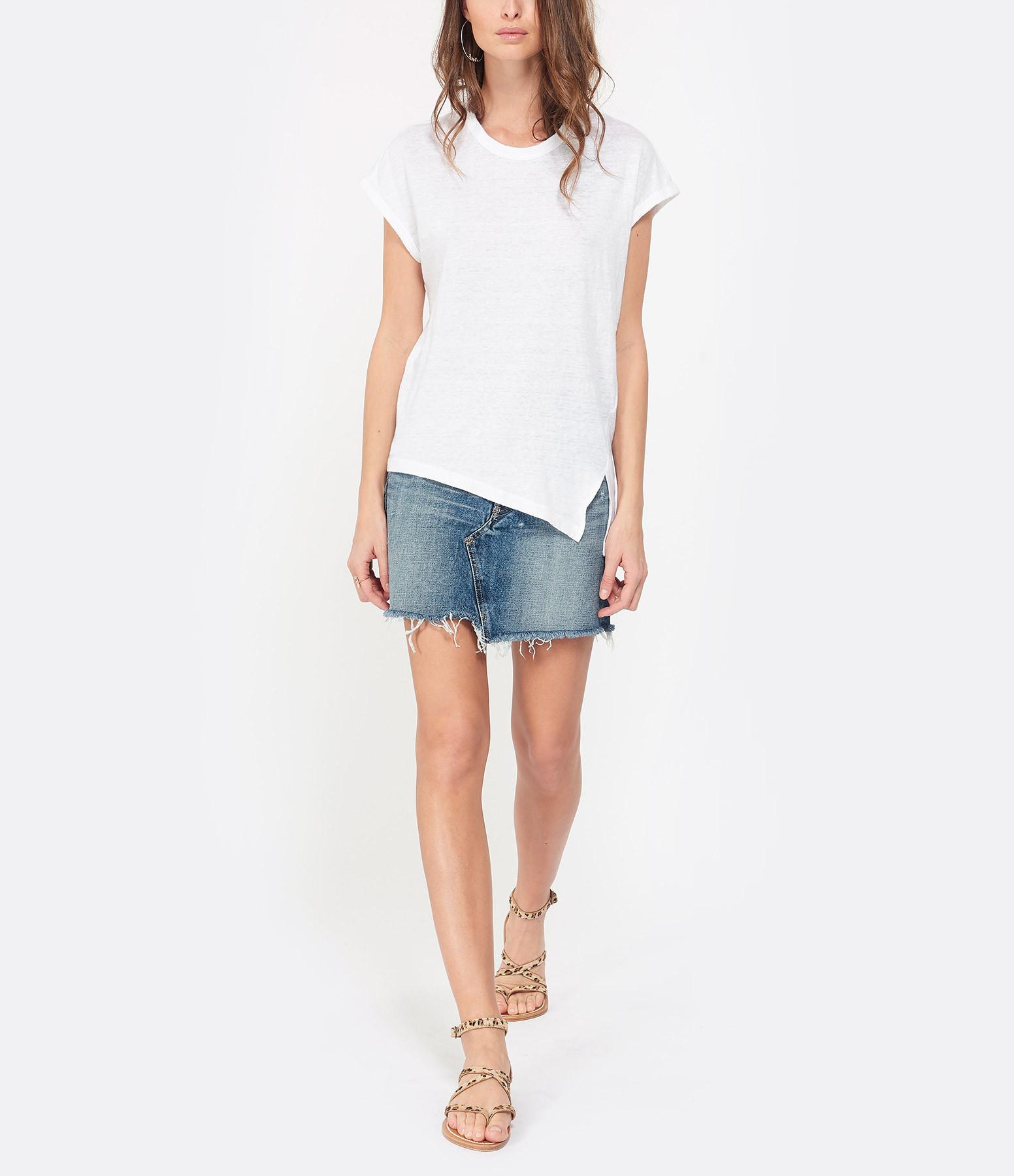 ISABEL MARANT ÉTOILE - Tee-shirt Kella Lin Blanc