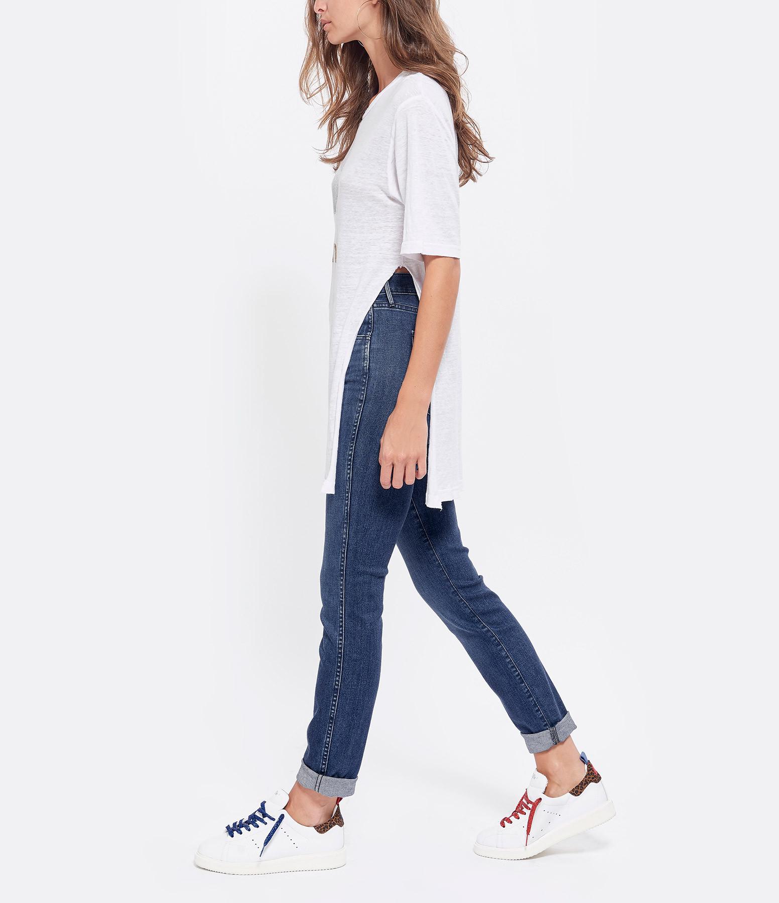 ISABEL MARANT ÉTOILE - Tee-shirt Kuta Coton Blanc