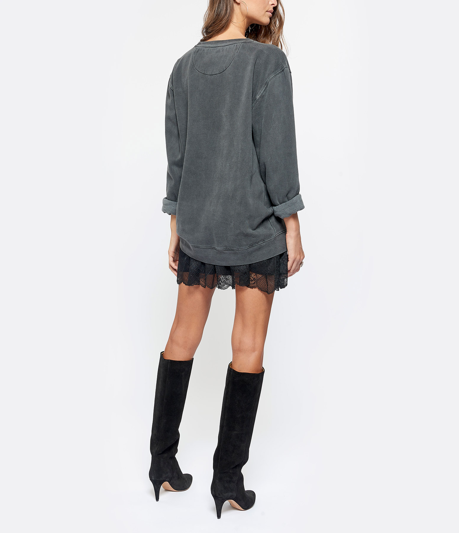 NEWTONE - Sweatshirt Its Rockin L.A Coton Pepper