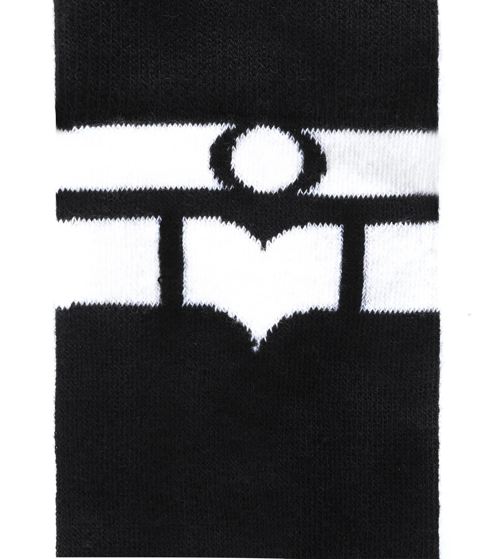 ISABEL MARANT - Chaussettes Vily Coton Noir