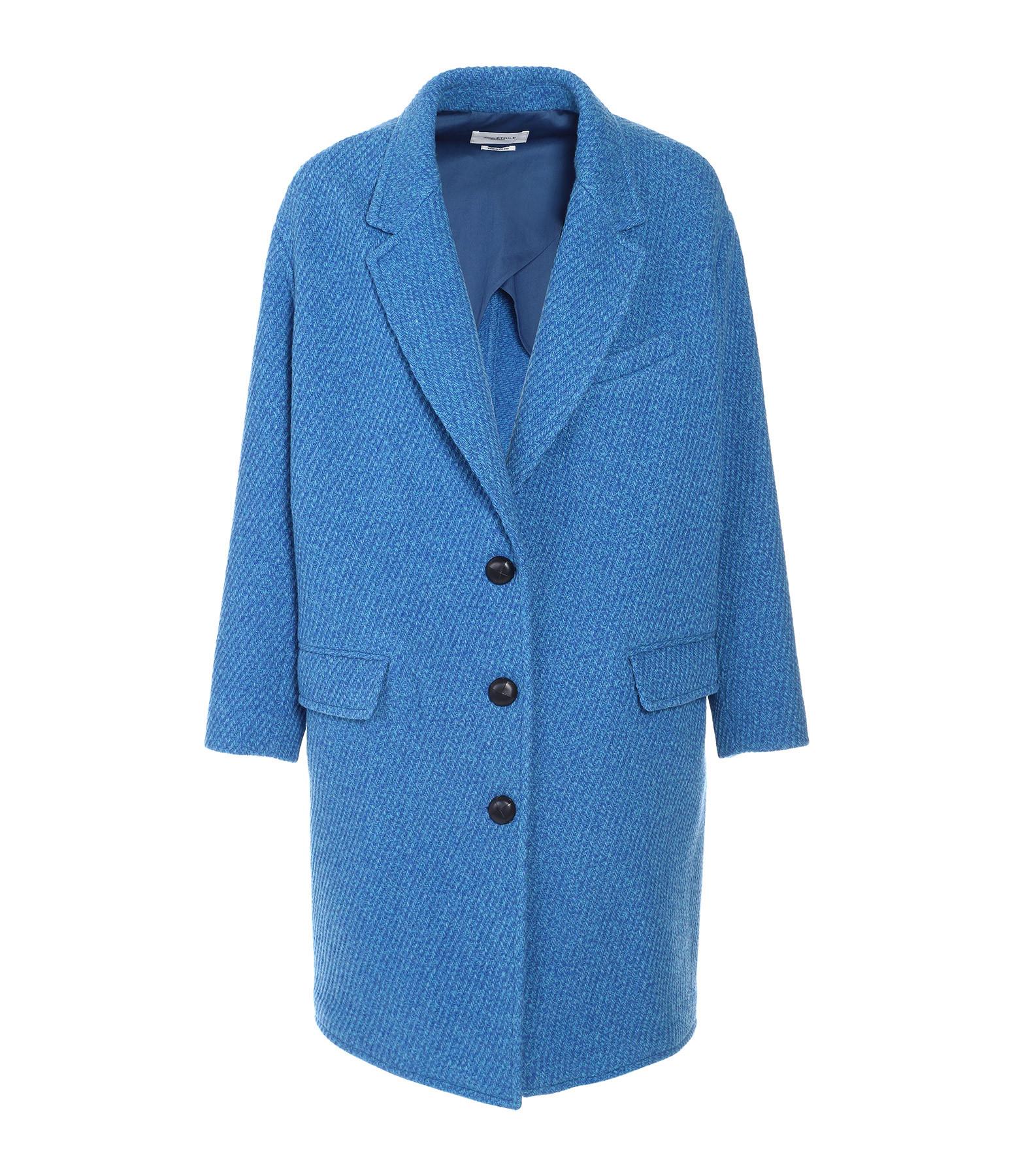vente chaude en ligne a9f2d 88d0e Manteau Gimi Laine Bleu