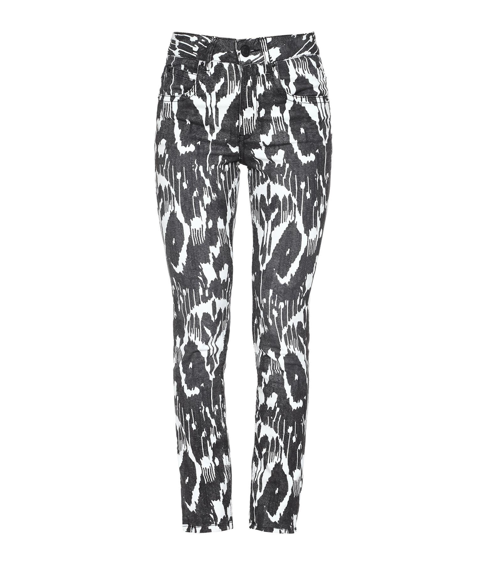 ISABEL MARANT ETOILE - Pantalon Paro Coton Noir