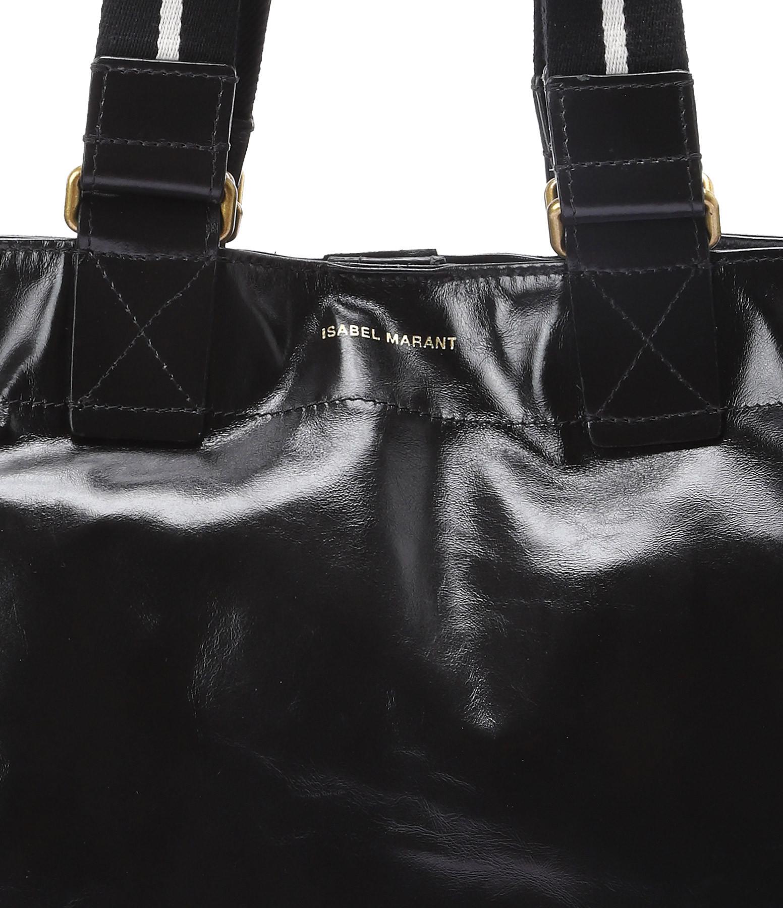 ISABEL MARANT ETOILE - Sac Bagya New Cuir Noir