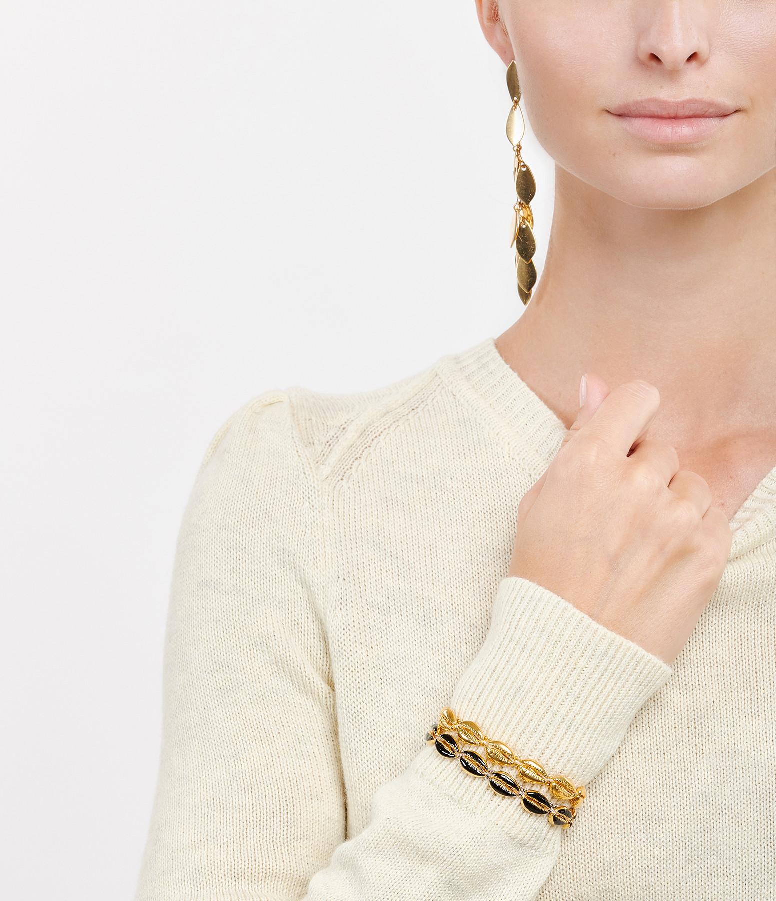 ISABEL MARANT - Bracelet Cauri Laiton Doré