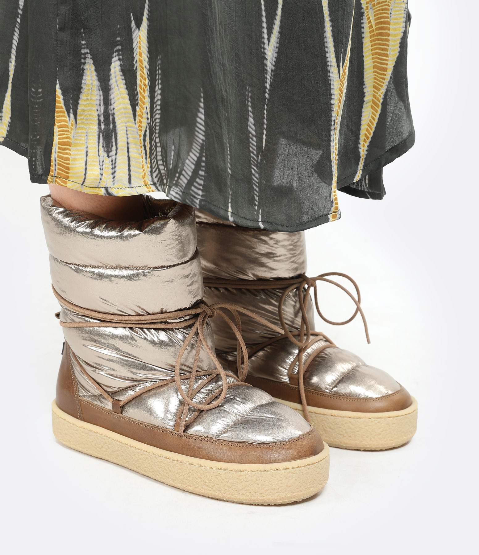 ISABEL MARANT - Bottines Zimlee Bronze