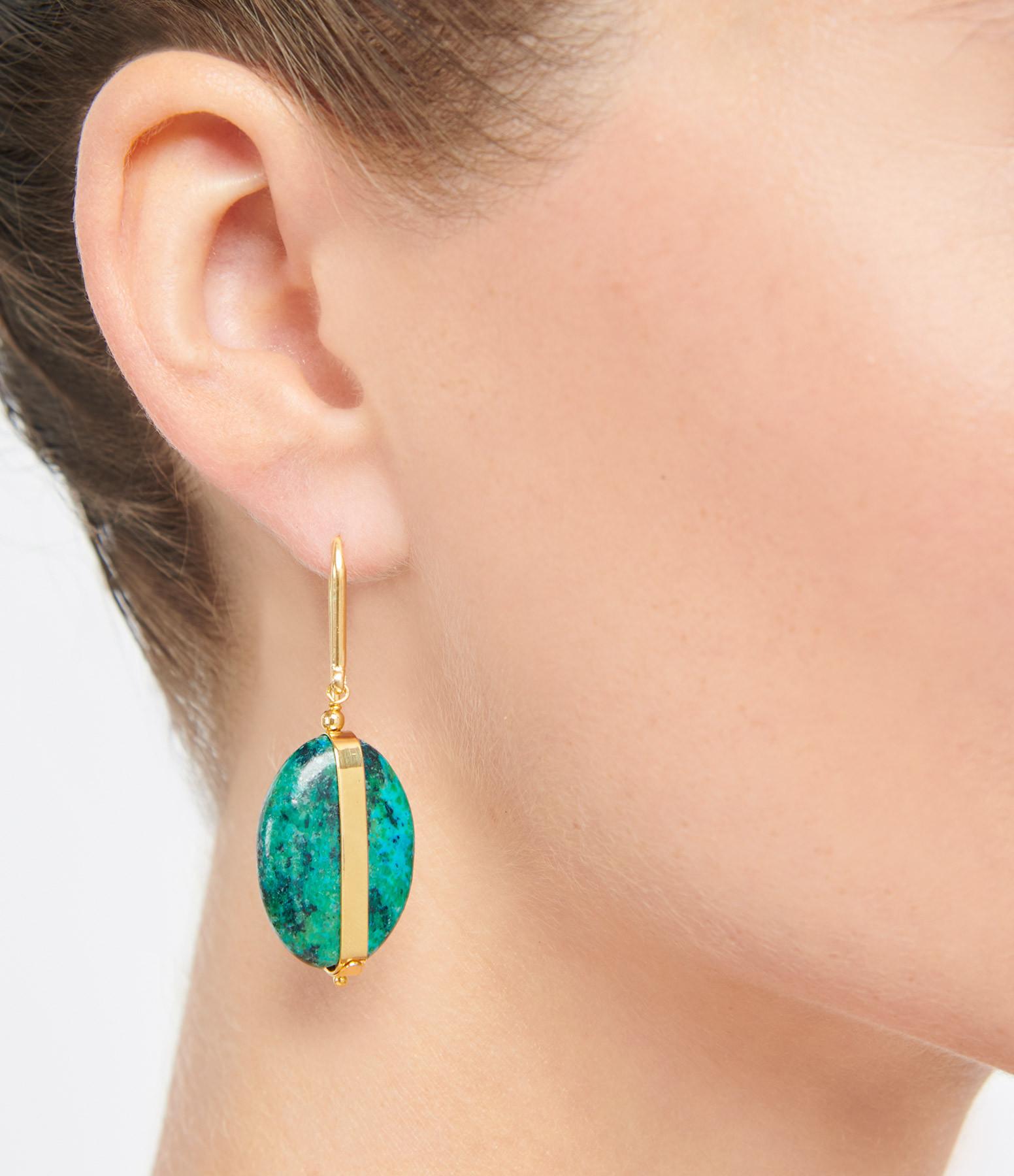 ISABEL MARANT - Boucles d'oreilles Laiton Amazone