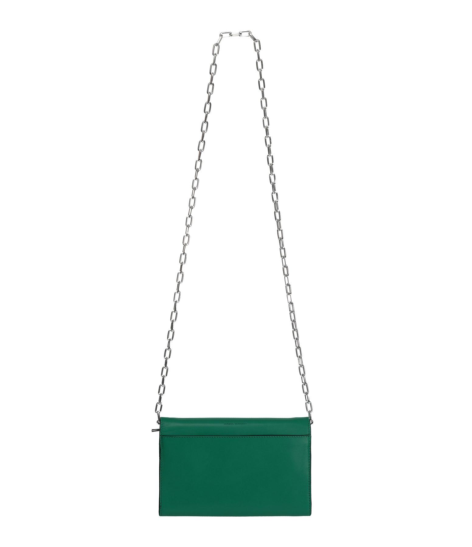 ISABEL MARANT - Sac Bandoulière Kyloe Cuir Vert