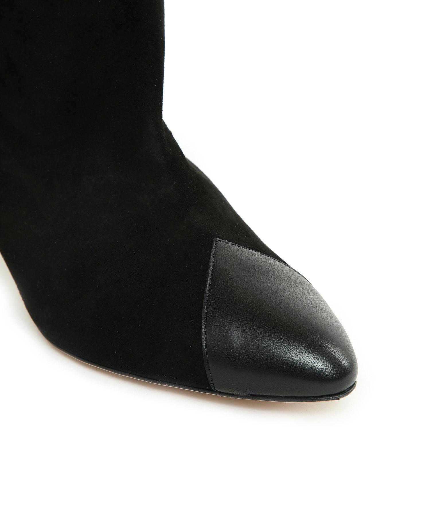 ISABEL MARANT - Bottes Leas Cuir Noir