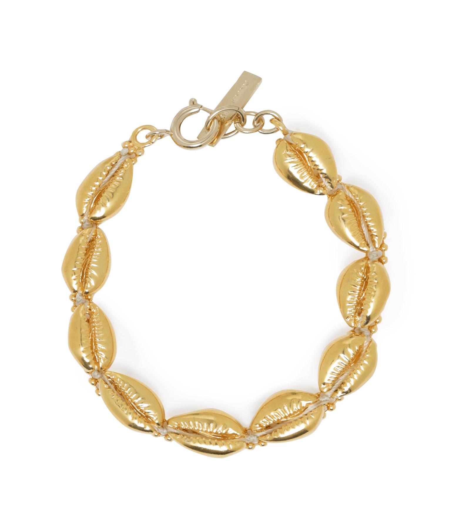 ISABEL MARANT - Bracelet Amer Laiton Doré
