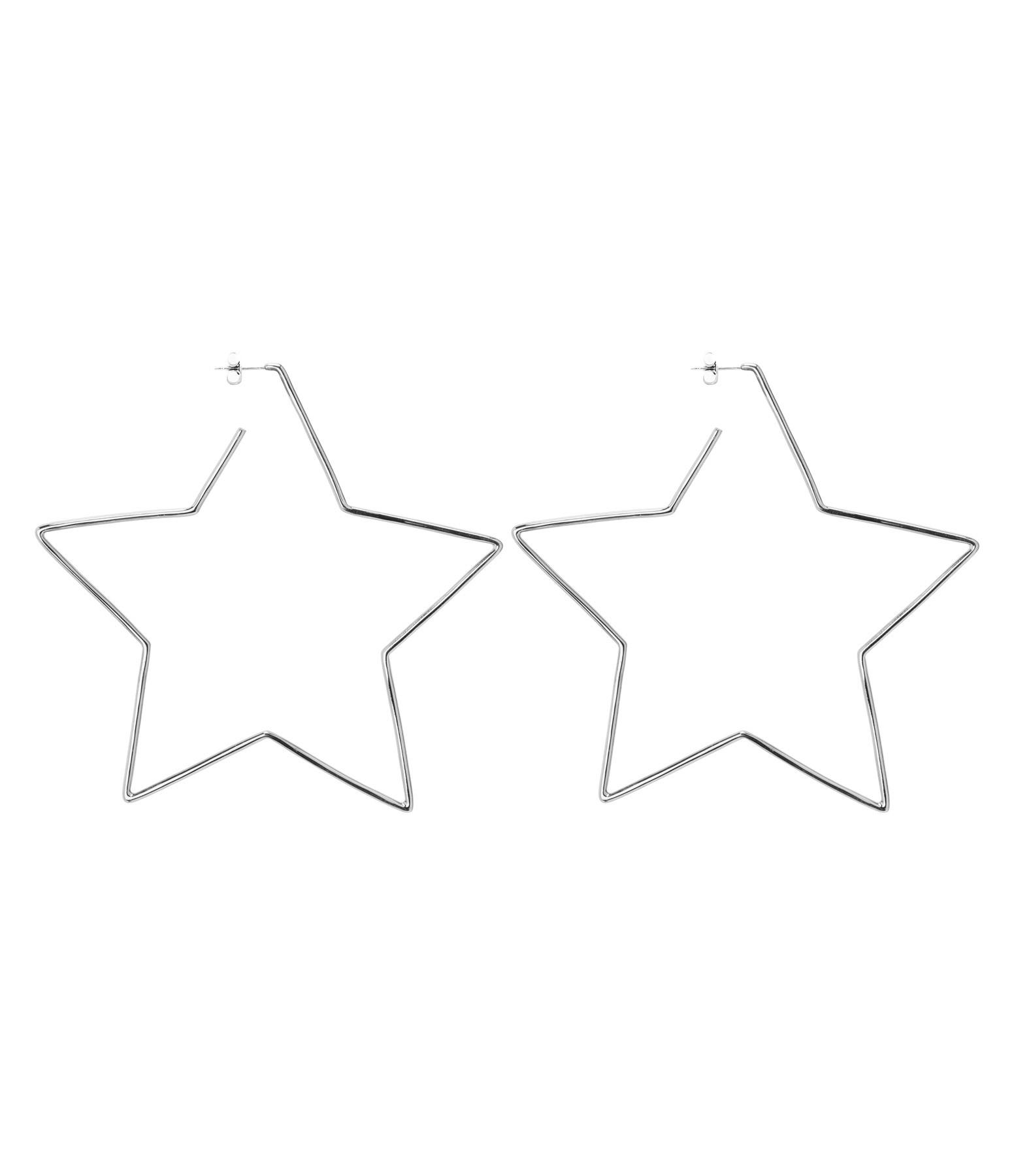 ISABEL MARANT - Boucles d'oreilles Shiny in Love Laiton Argenté