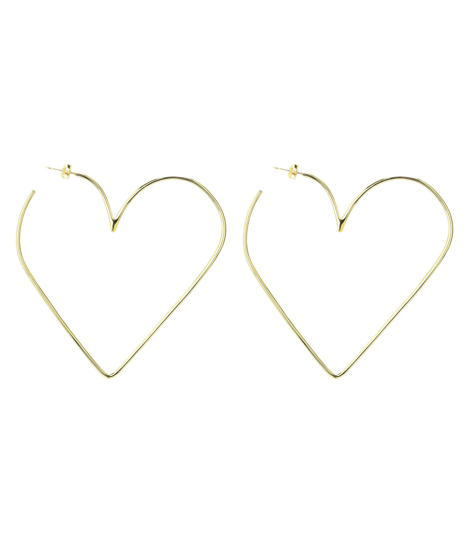 ISABEL MARANT - Boucles d'oreilles Shiny in Love Laiton Doré