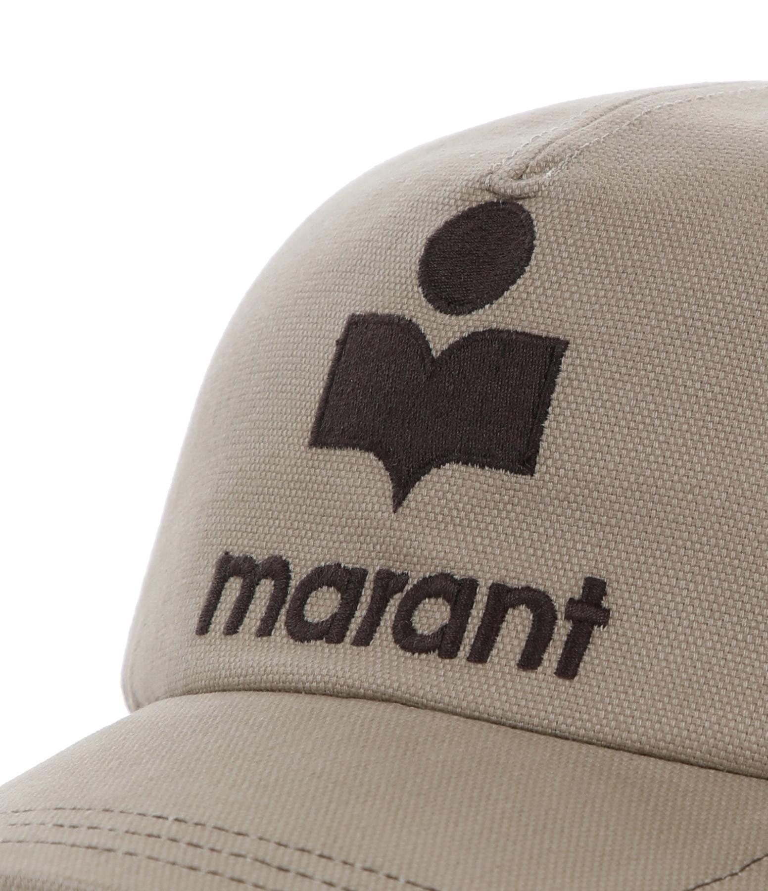 ISABEL MARANT - Casquette Tyron Coton Beige