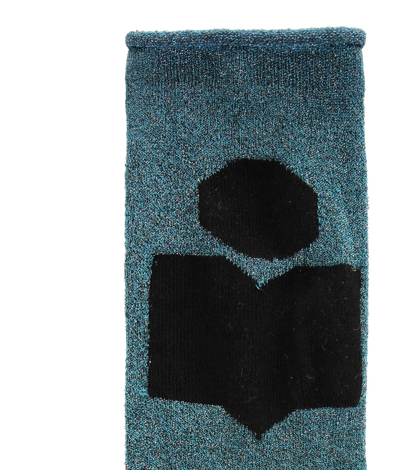 ISABEL MARANT - Chaussettes Slaze Vert Celadon