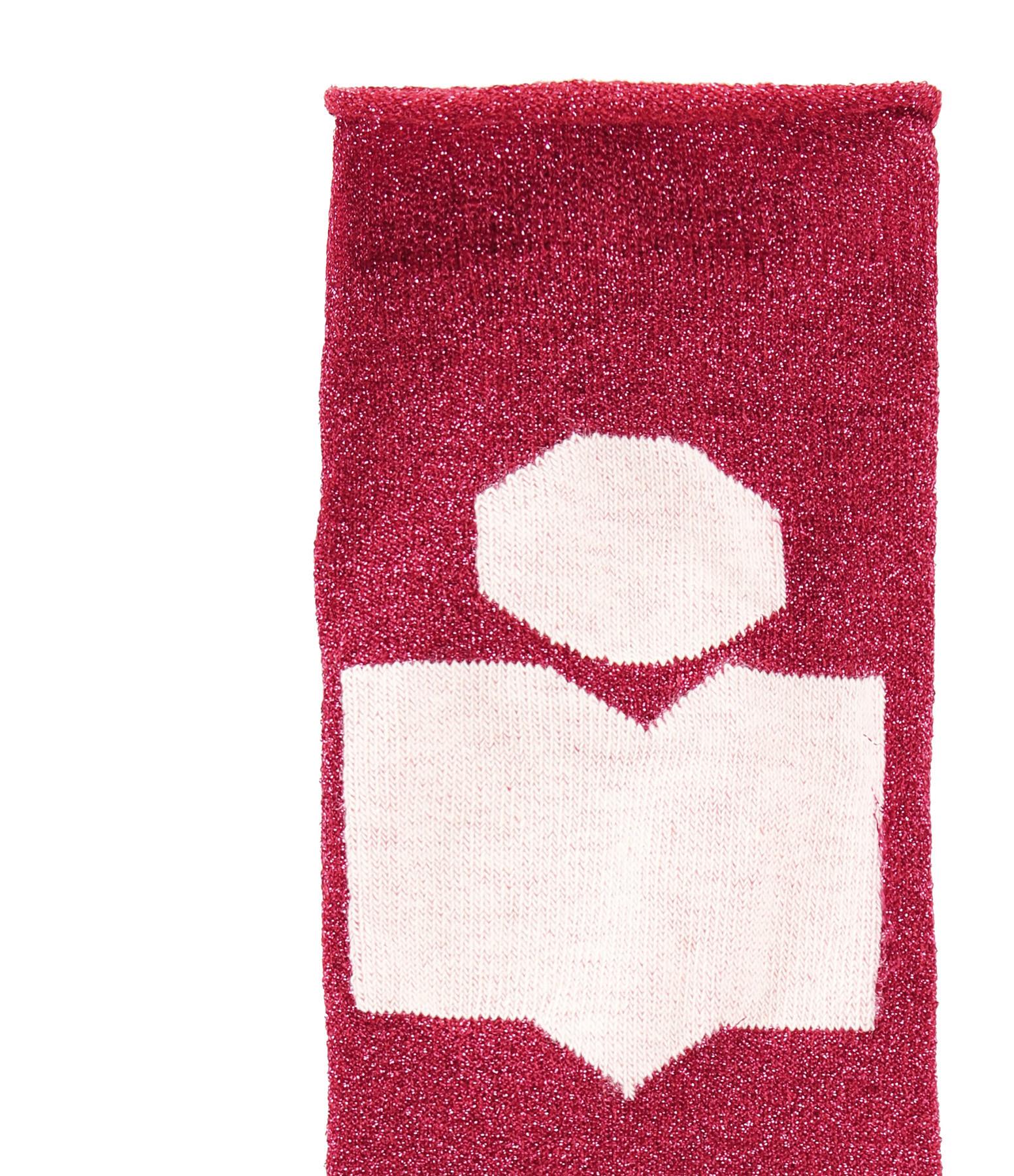 ISABEL MARANT - Chaussettes Slaze Rouge