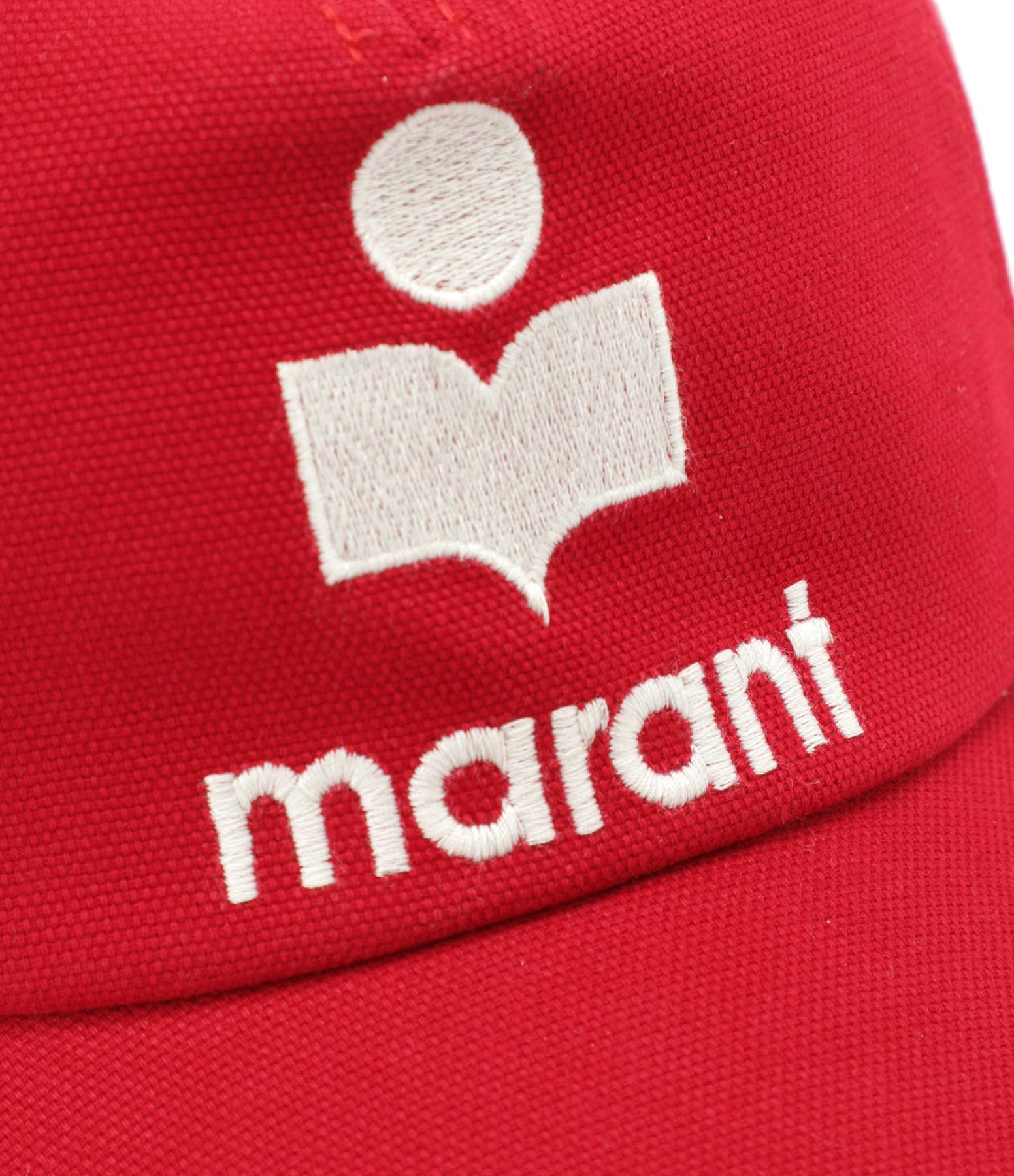 ISABEL MARANT - Casquette Tyron Coton Rouge