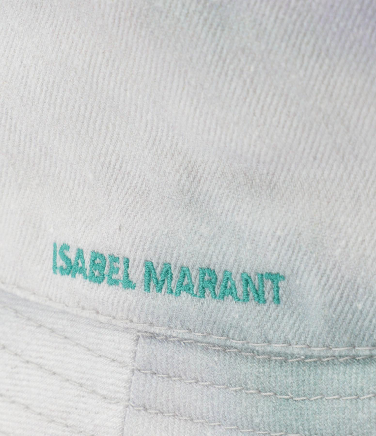 ISABEL MARANT - Bob Haley Coton Tie and Dye Vert