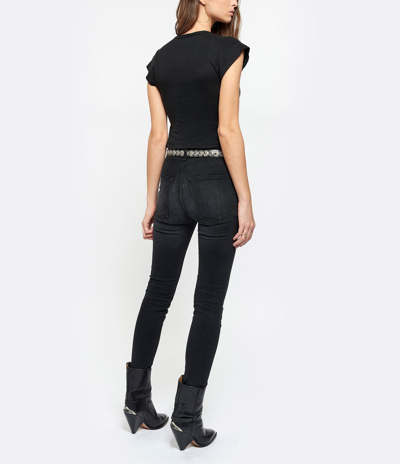 ISABEL MARANT ÉTOILE - Tee-shirt Zankya Lin Noir