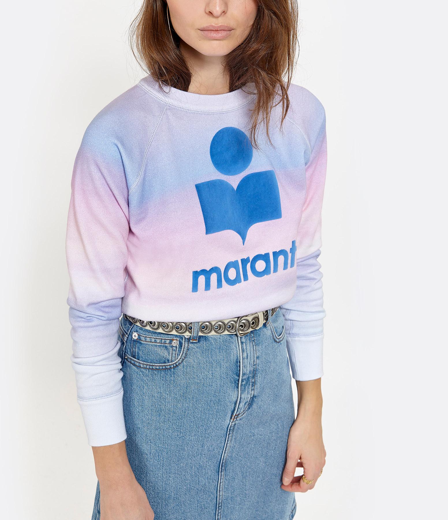 ISABEL MARANT ÉTOILE - Sweatshirt Milly Coton Bleu Rose