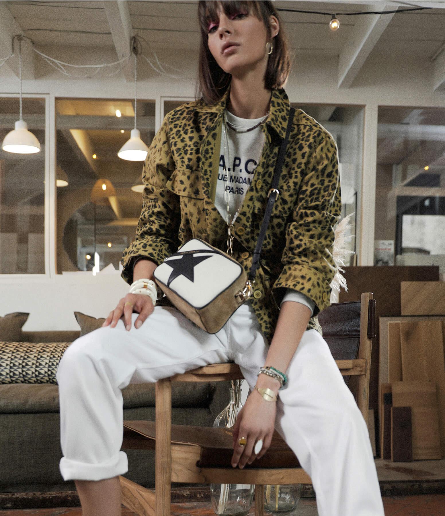 ISABEL MARANT ÉTOILE - Pantalon Corsy Coton Blanc