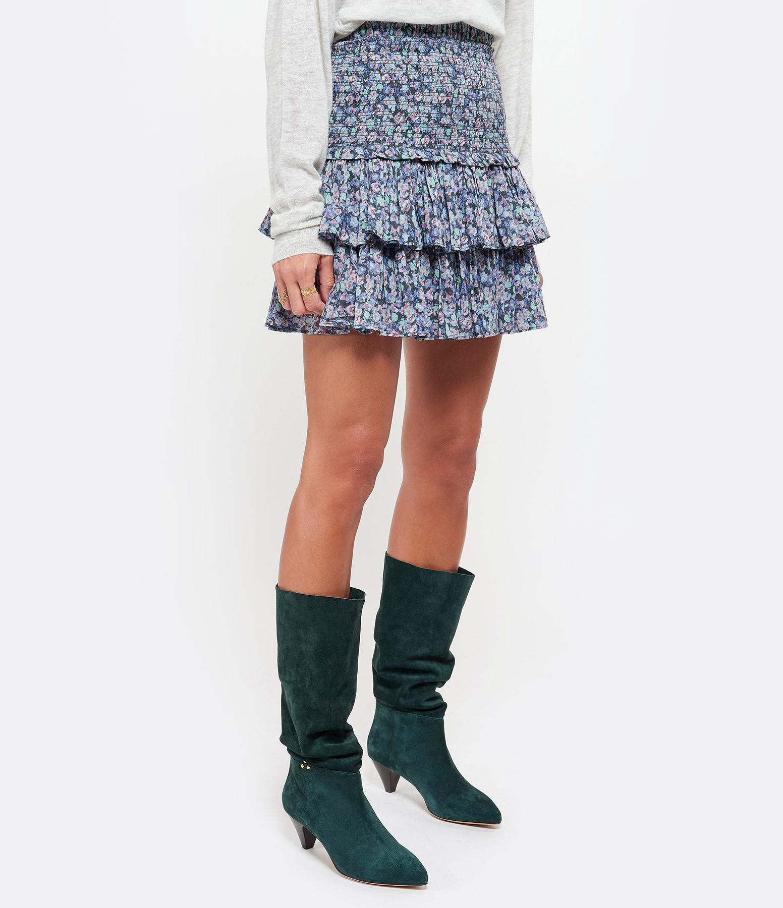 ISABEL MARANT ÉTOILE - Jupe Naomi Coton Multicolore