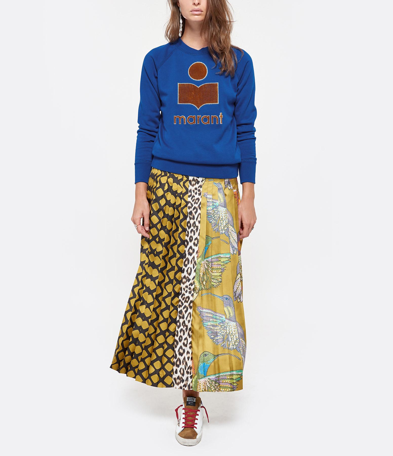 ISABEL MARANT ÉTOILE - Sweatshirt Milly Coton Bleu Électrique